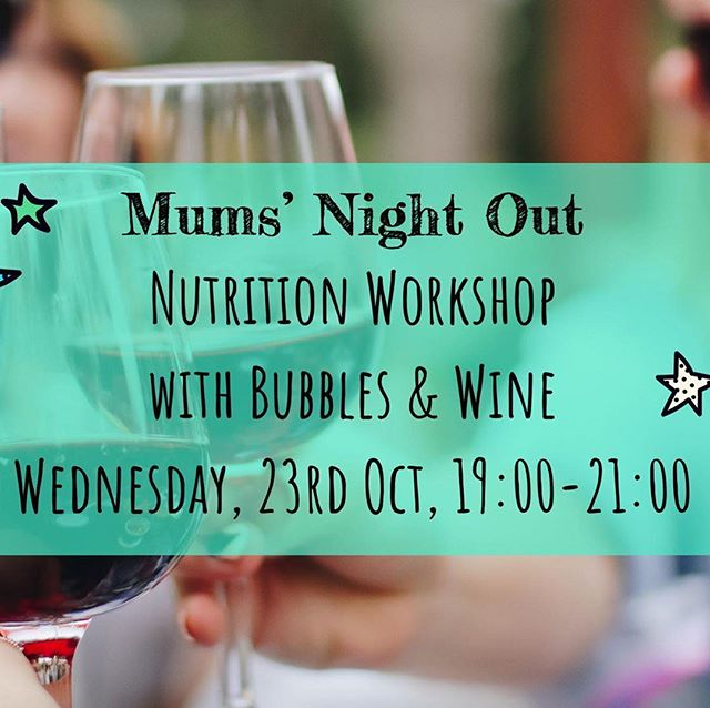 Ladies' Night Out! Mums! The time has come to organize something especially for YOU! Let your hair down, learn everything you needed to know about nutrition, get to know other fabulous, like-minded women, enjoy the most incredible 100% healthy and nutritious food and indulge in a glass or two of some bubbly! Mumpreneur Vanessa, of @dr._goodnessme will be hosting a fabulous evening at the Academicus Atelier on Wednesday 23.10, at 19:00! Join other incredible women, and spend a wonderful evening learning, making new friends and tasting new and delicious flavors!  https://www.academicus.co/events/mums-night-out-with-nutrition-workshop-and-bubbles 60chf, Waffernplatzstrasse 5, 8002 Zurich (parking is available right next to the atelier).