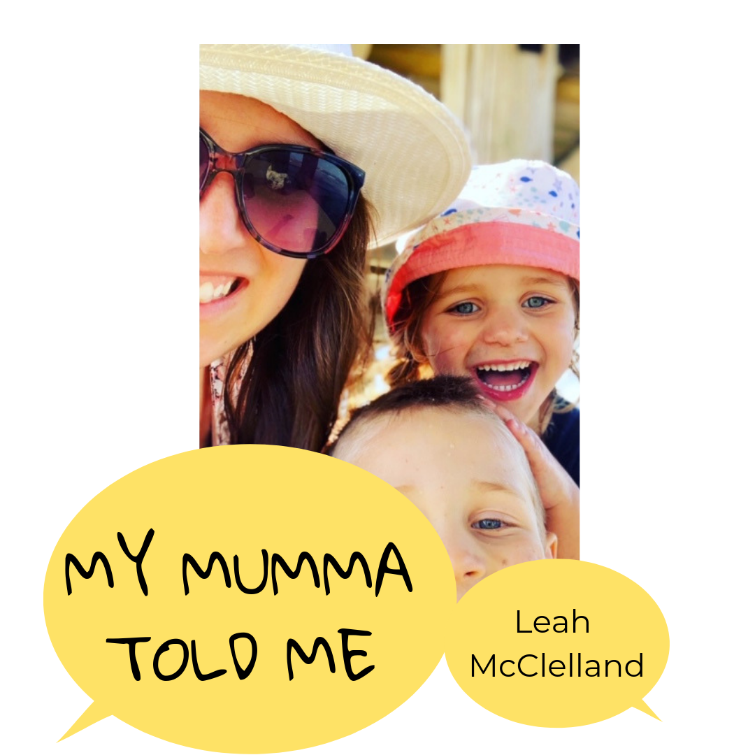 - Join us for next week's story from Leach McClelland, Mumma of 3 and creator of She.spo