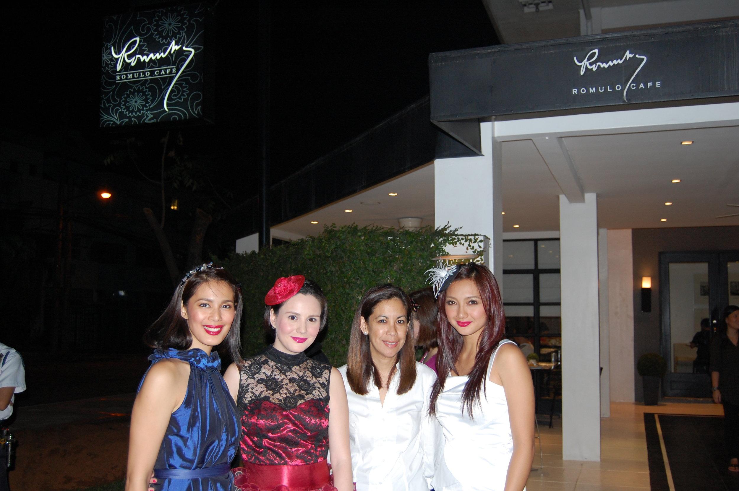With Angel Aquino, Cheska Garcia, and Iya Villania