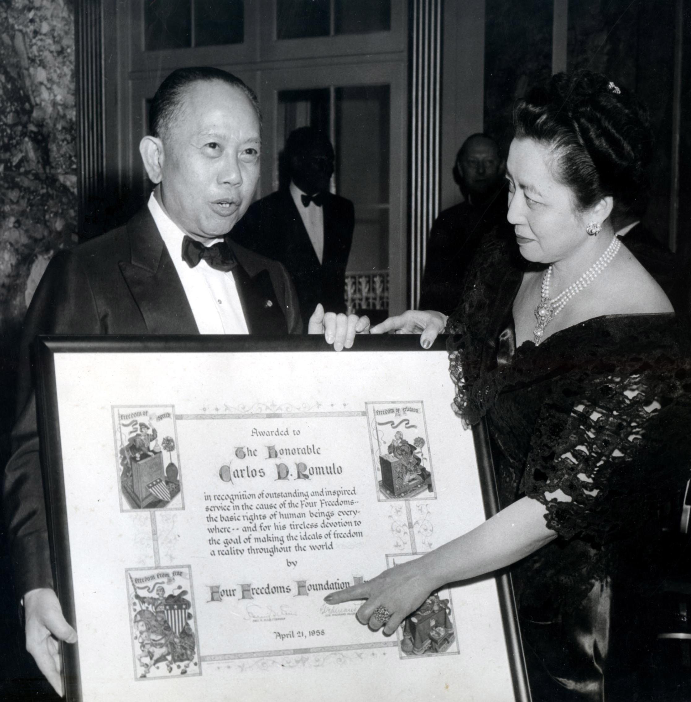 Four Freedoms Award