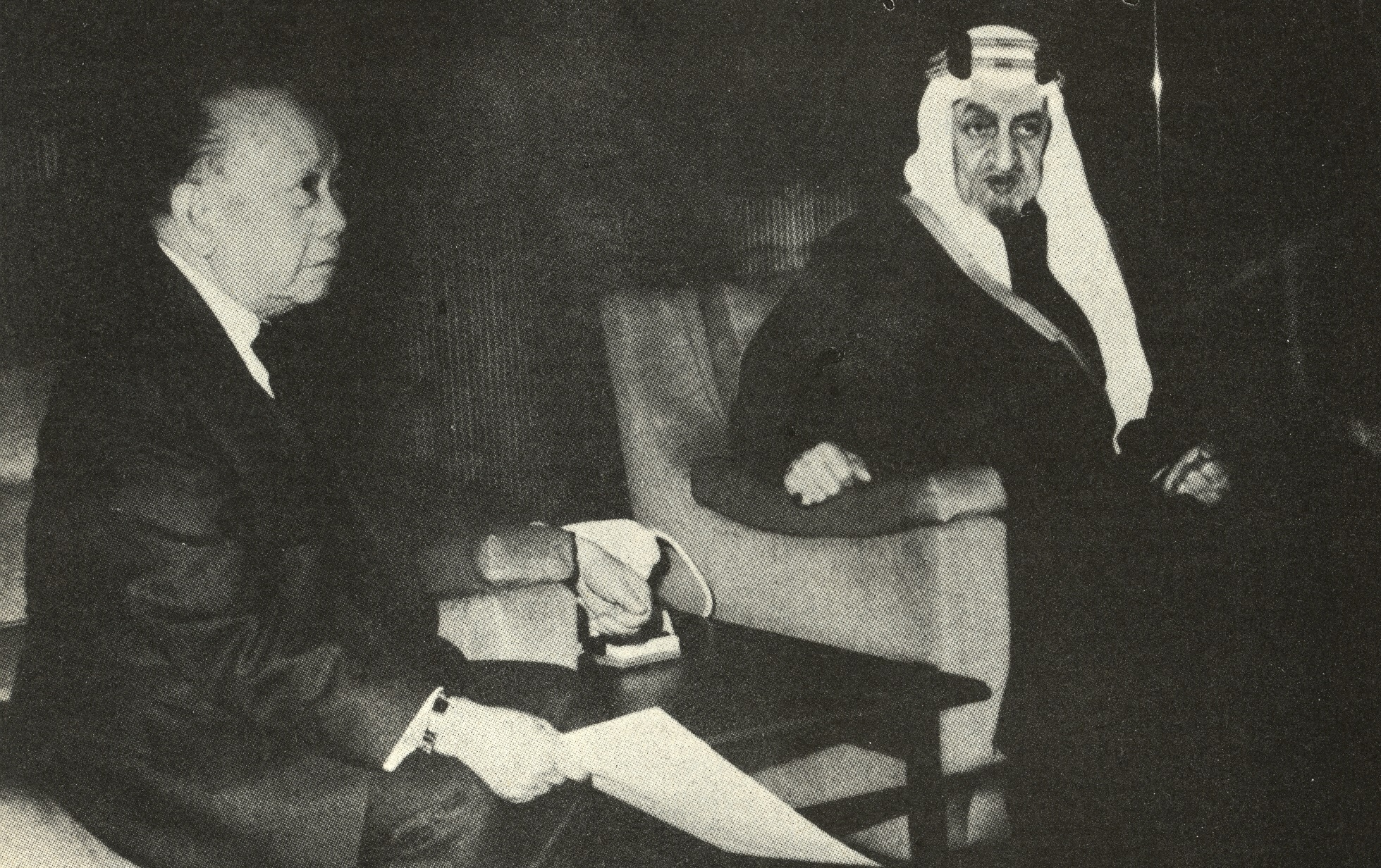 CPR and King Faisal