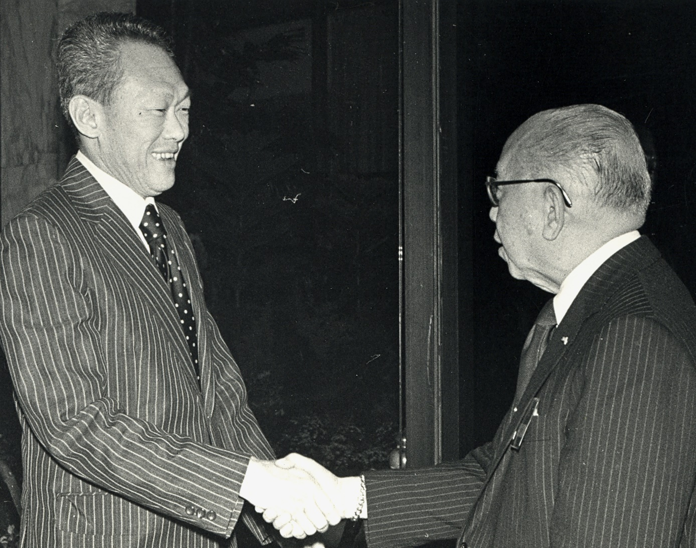 CPR and Singaporean PM Lee Kuan Yew