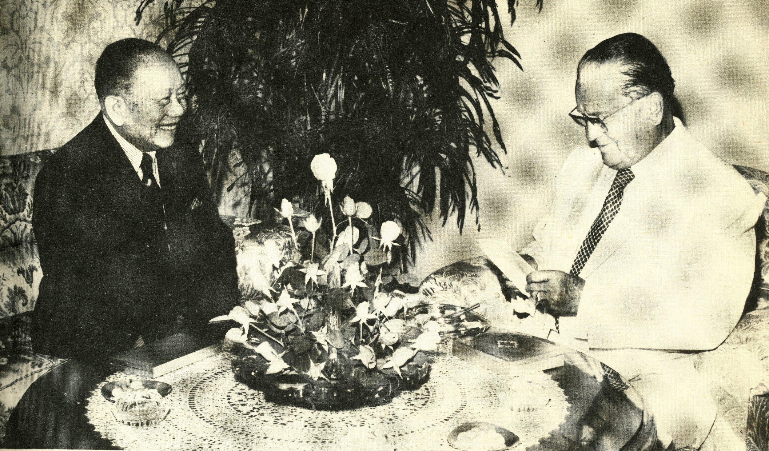 CPR and Yugoslav Pres. Josef Broz Tito