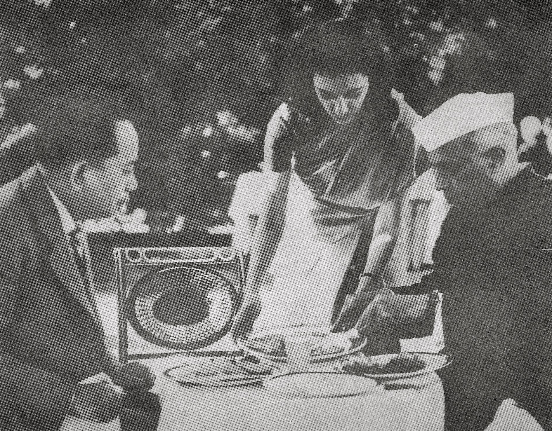 CPR with Jawaharlal Nehru and Mrs. Indira Gandhi
