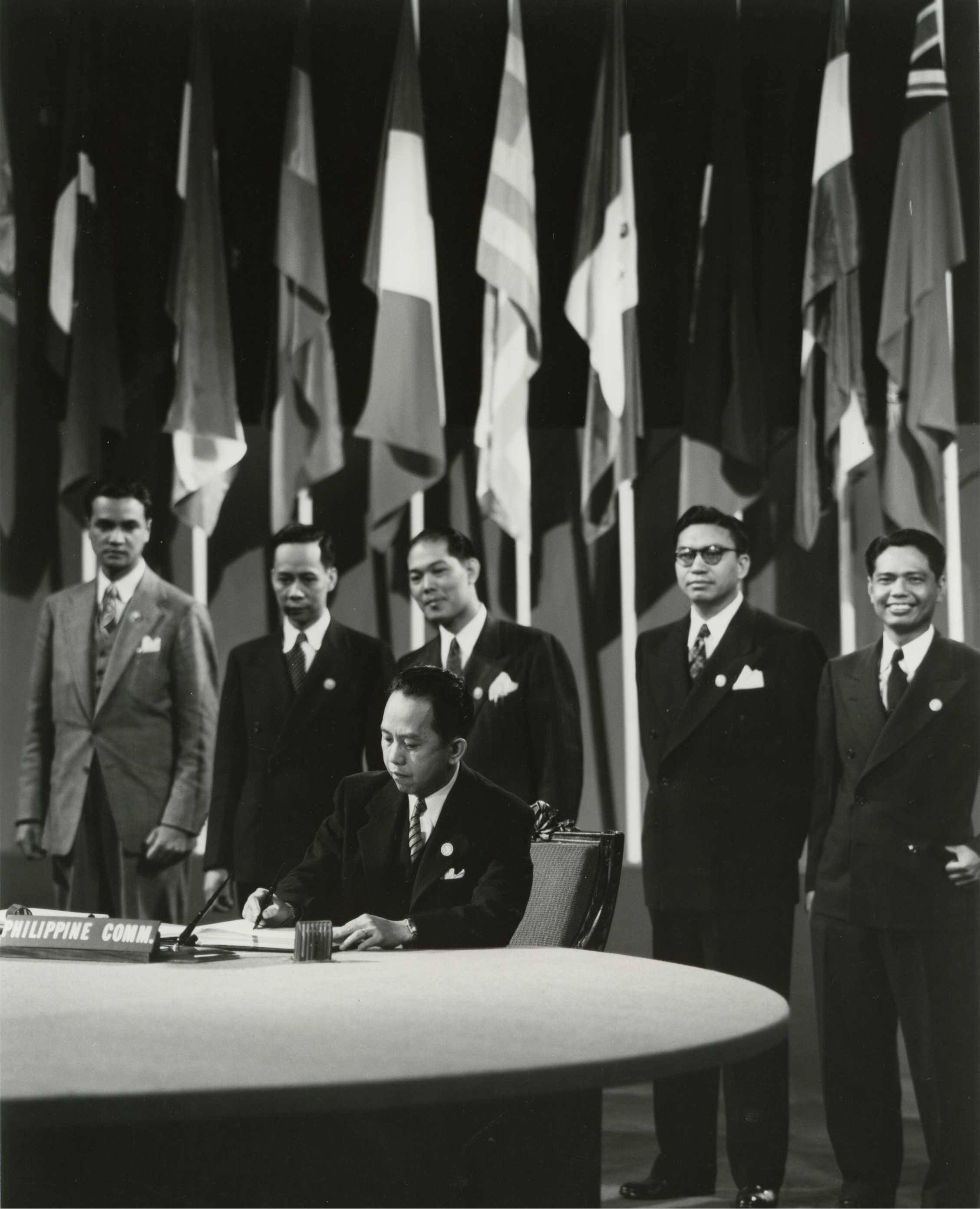 Signing of 1945 Charter