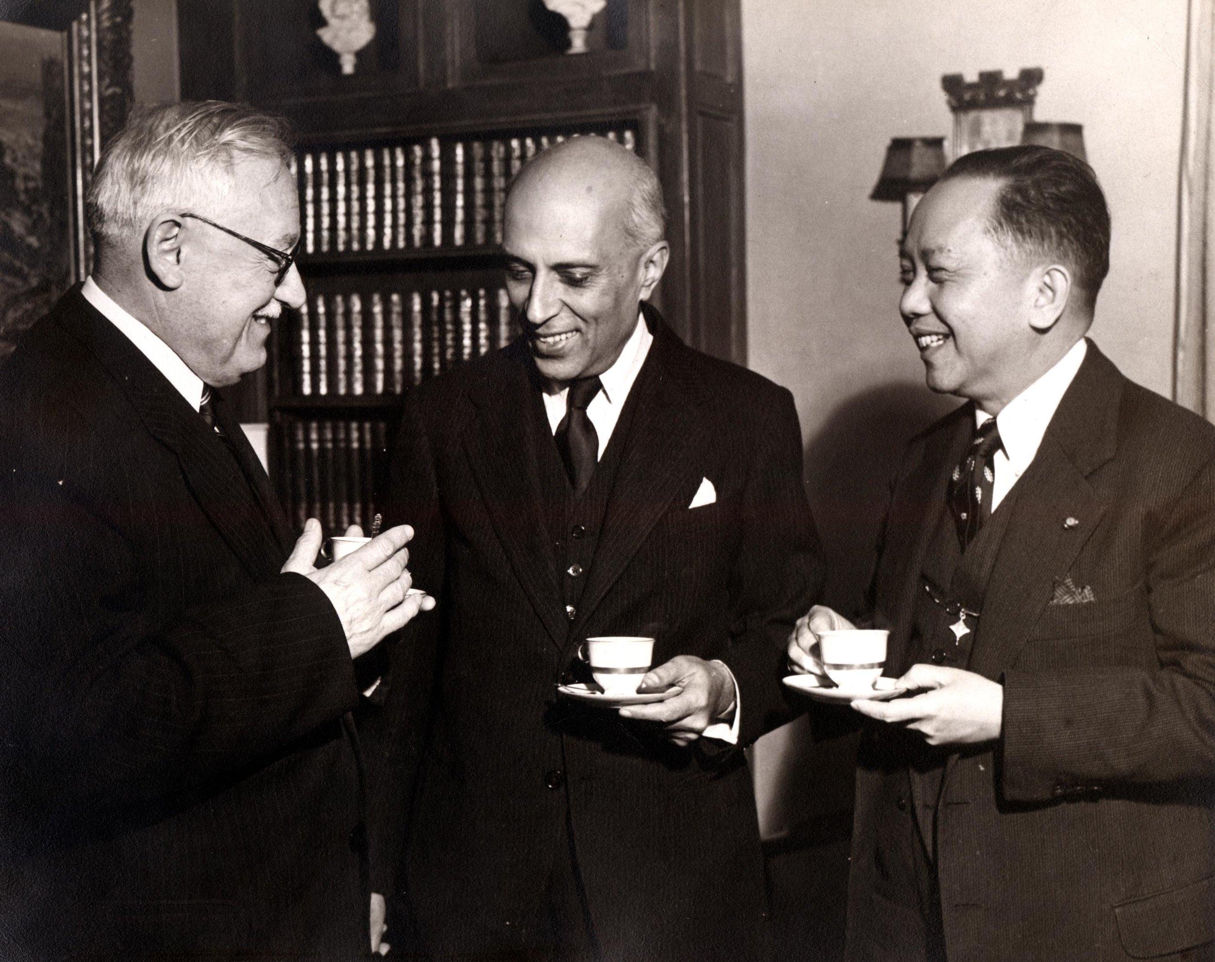 Vyshinsky, Nehru and CPR