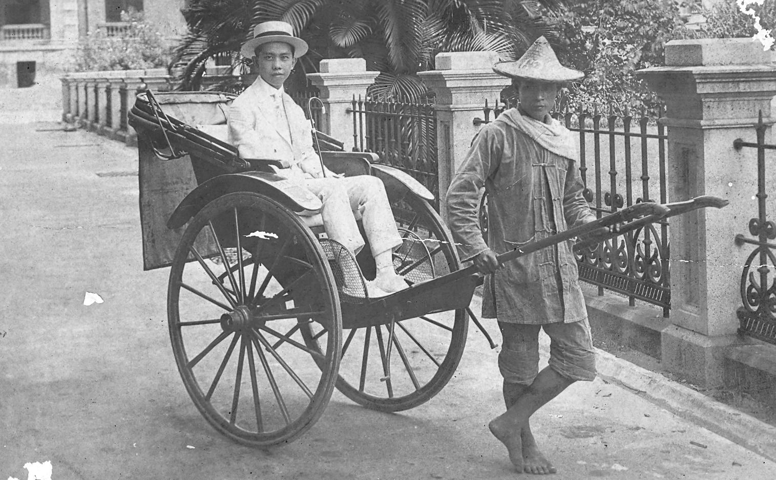 CPR on a rickshaw