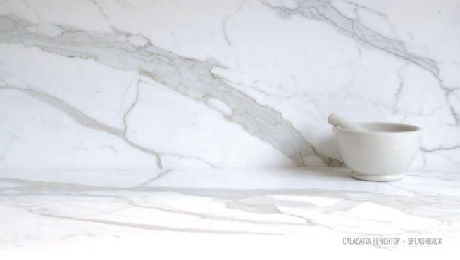 Calacatta natural stone
