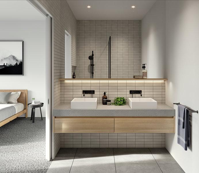 bathoom design Lisa Larkin Design