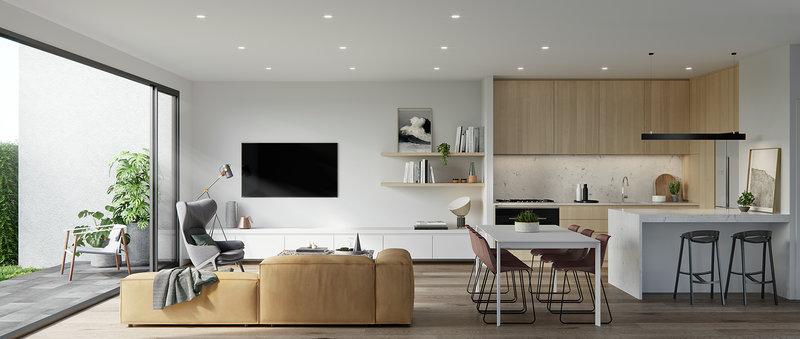 Apartment Design by Lisa Larkin Design
