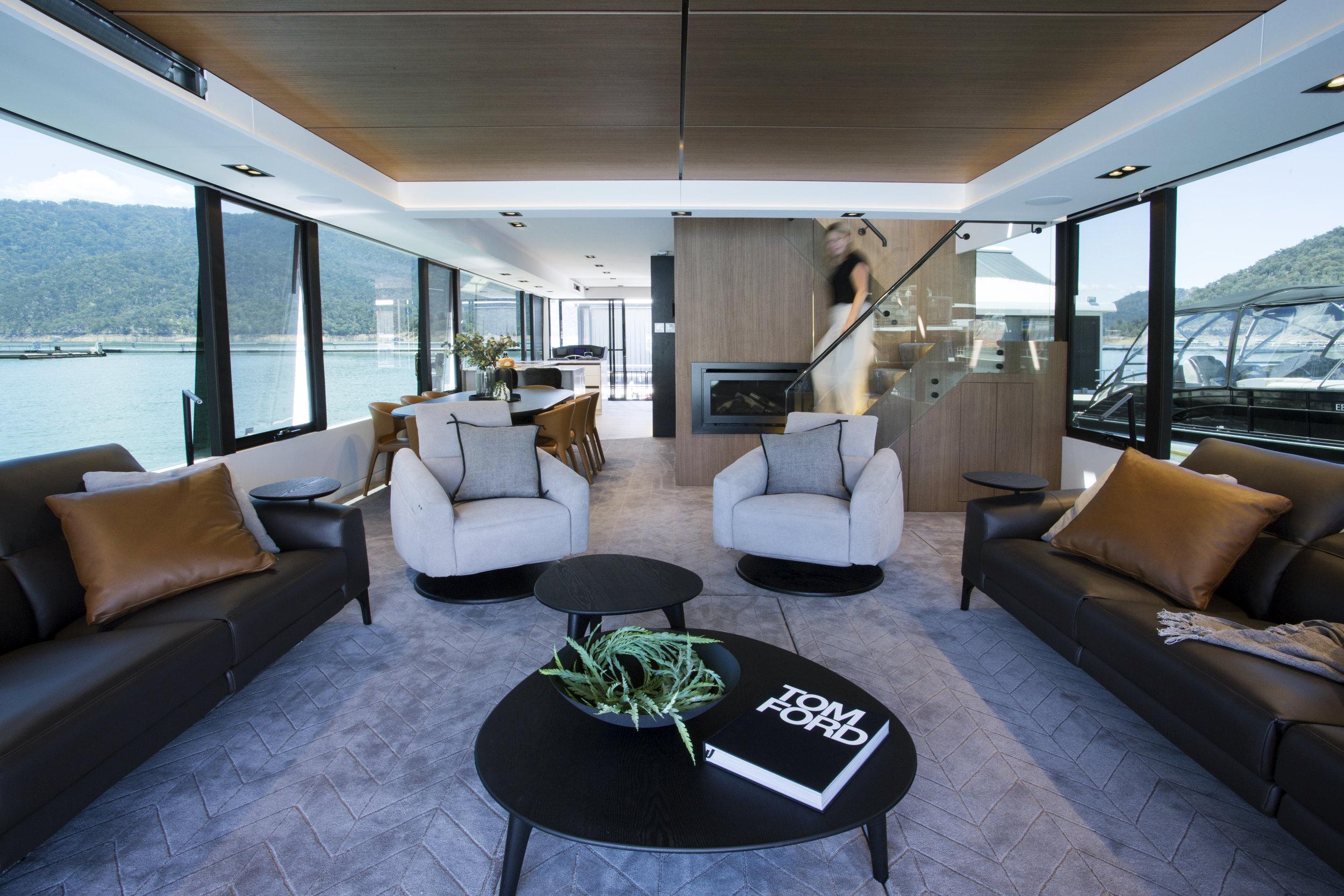 houseboat Interior Designer Lisa Larkin