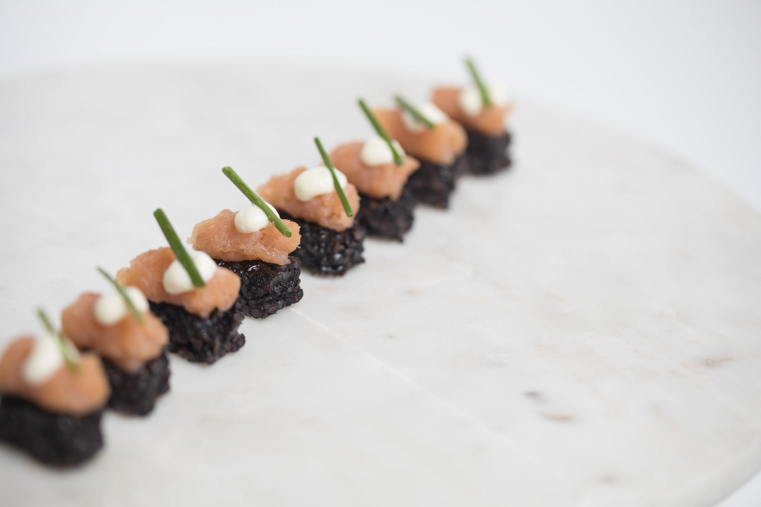 Smoked Salmon and Black Rice Pave _HDV_Fall 18 GP Tasting_BH_76.JPG