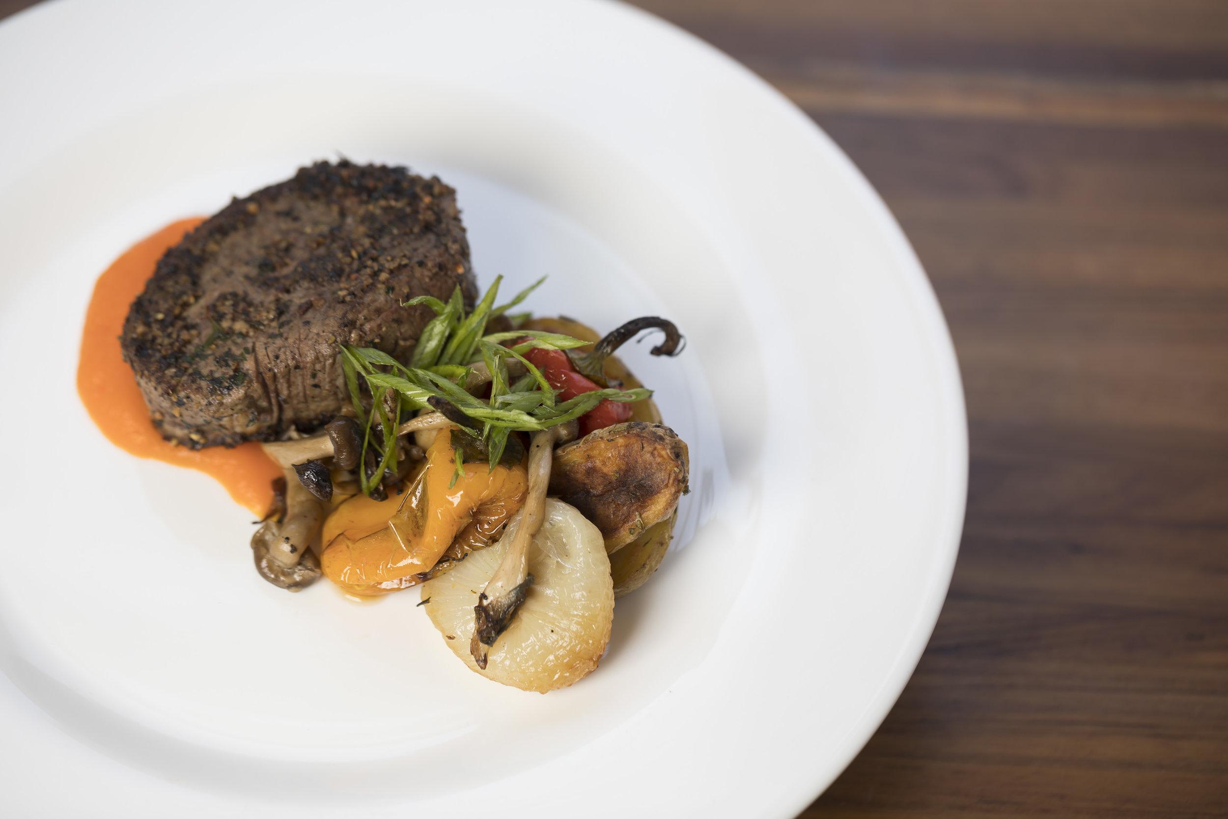 Silk Road Beef Tenderloin with Roast Vegetables_Main_Fall 18 GP Tasting_BH_62.JPG