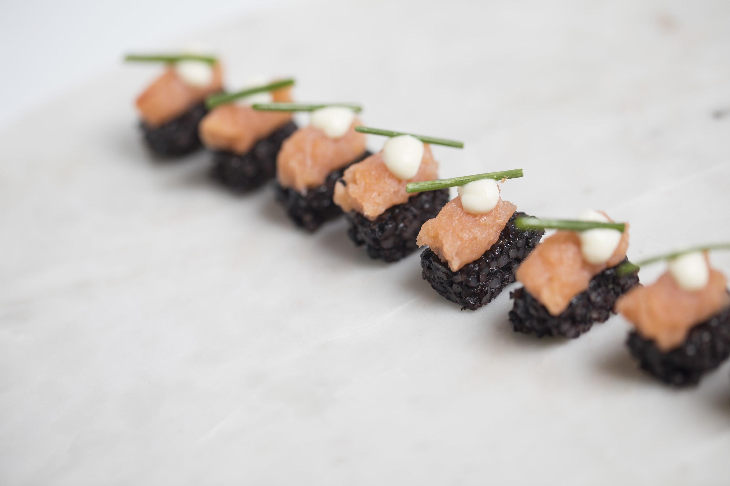 Smoked Salmon and Black Rice Pave _HDV_Fall 18 GP Tasting_BH_72.JPG