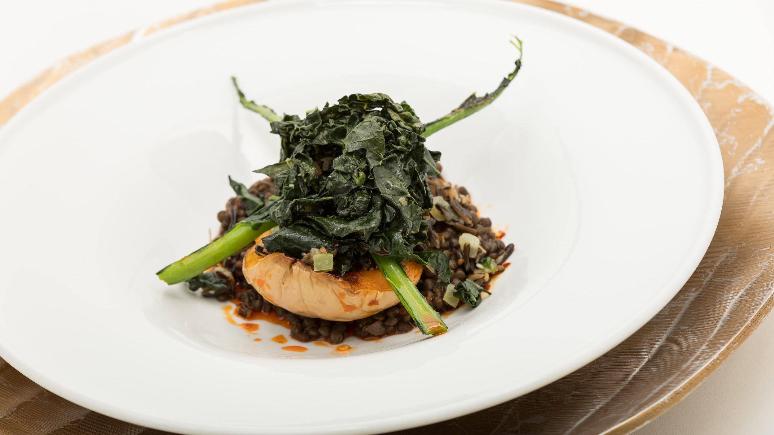 Five-Spice Beluga Lentils & Roast Butternut Squash w_Wild Rice, Greens, Chili Oil & Black Vinegar_Amanda Gentile7.jpg