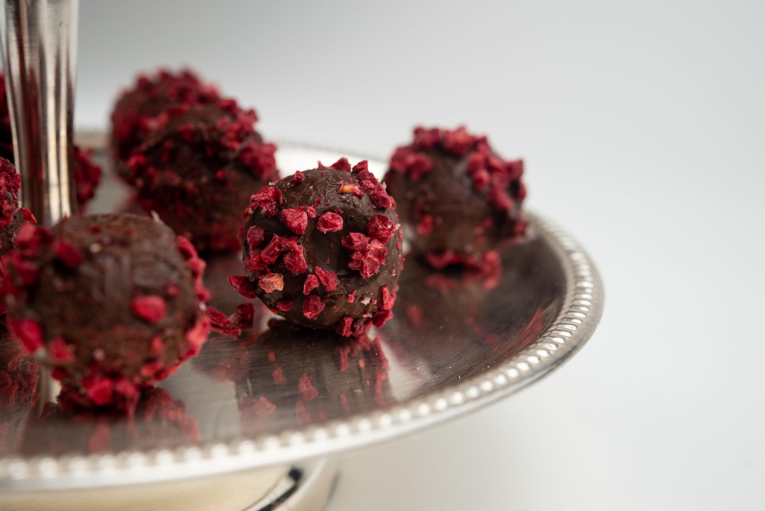 Raspberry Dark Chocolate Rocher1.jpg