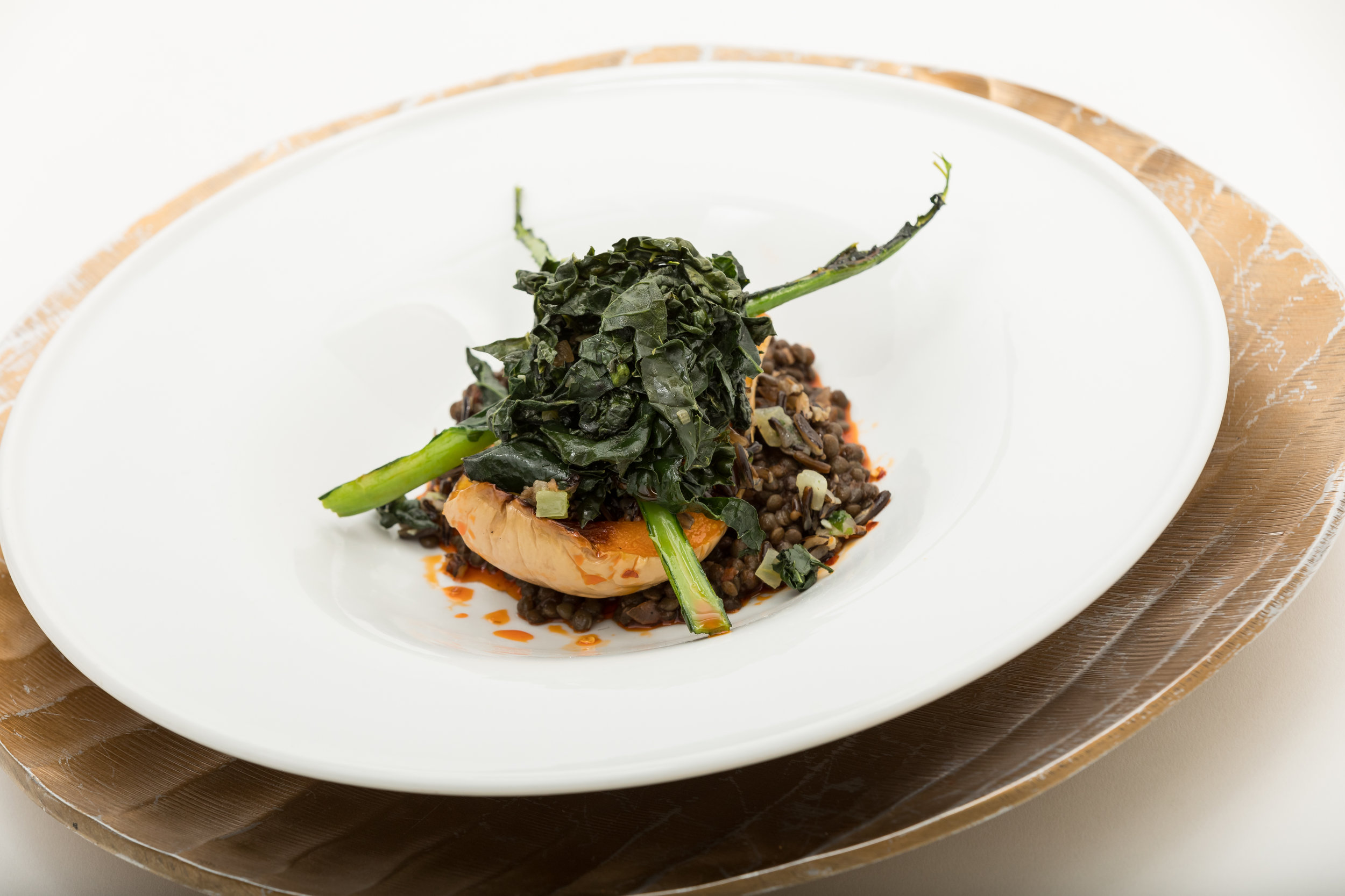 Five-Spice Beluga Lentils & Roast Butternut Squash w_Wild Rice, Greens, Chili Oil & Black Vinegar_Amanda Gentile4.jpg