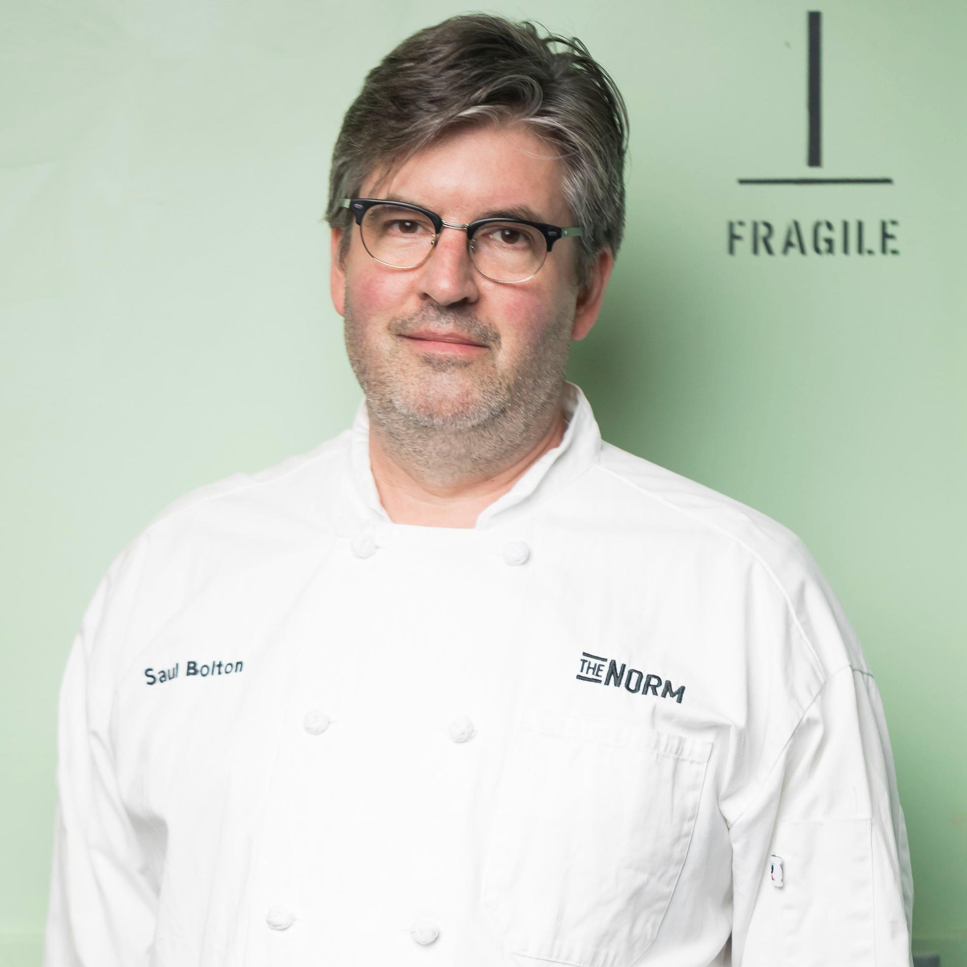 Chef Saul Bolton