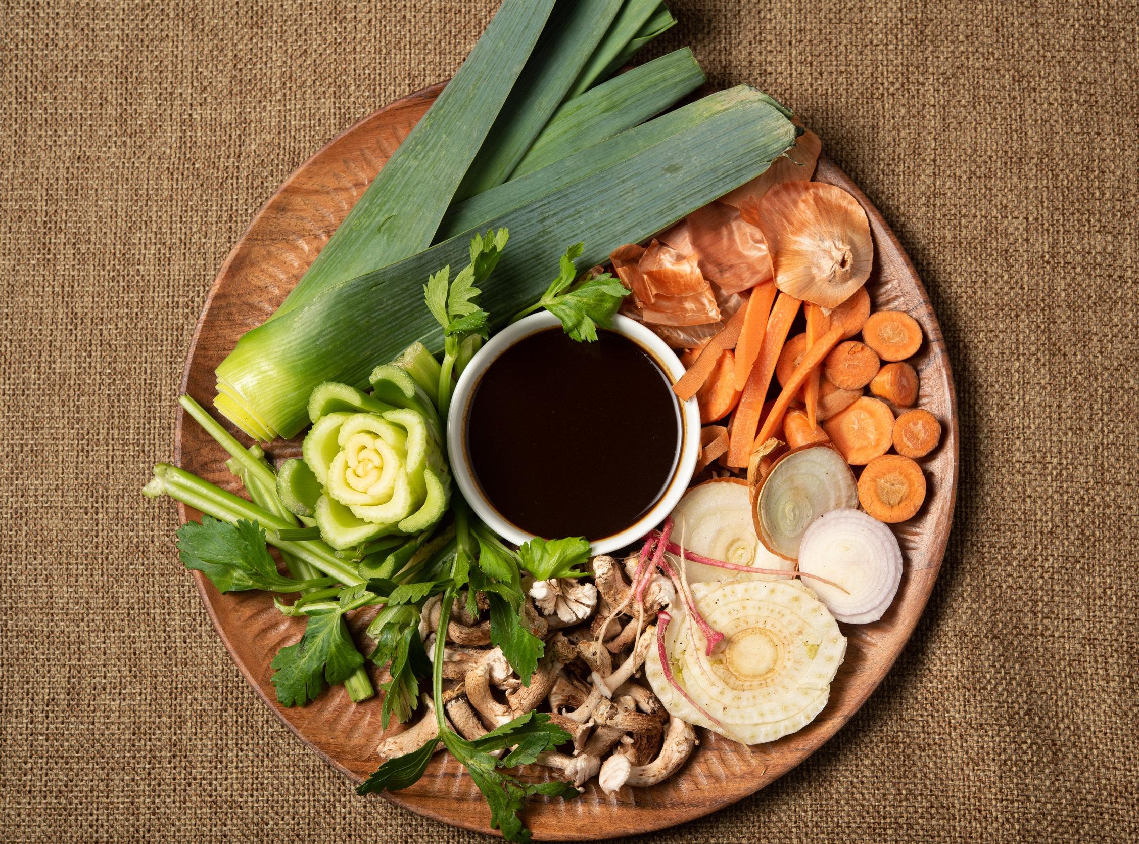 Vegan Demi Glace Ingredients; Photo Credit: ©Chip Klose