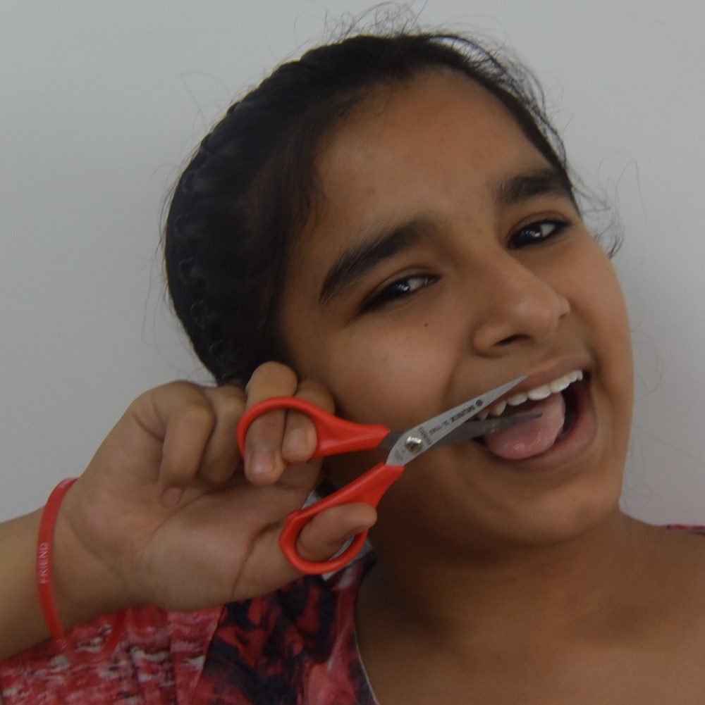 Lakshita - Lakshita always wants to know new things about everything. She is very funny and talkative. She likes meeting new people and always wants to learn something new or good from everyone she meets. When she is bored, she likes to sing, dance or to cook something interesting.
