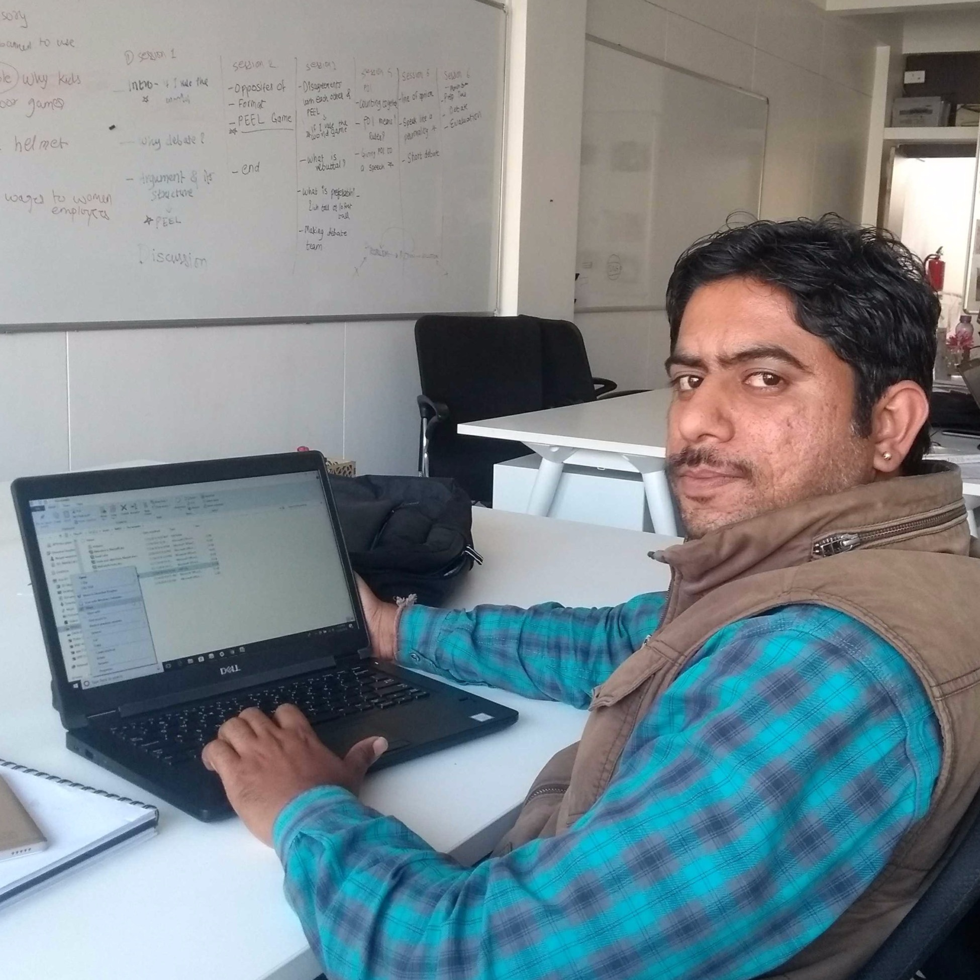 Narpat Singh Rathore (Data Cruncher) - I recently started working on monitoring & evolution at Dharohar. But don't worry I am not like the snatcher class monitor of your school days, you may find a cool friend in me to explore Udaipur in and around. You may face lot of questions, What? Why? Value addition & blab blab blab! if you are planning anything in front of me. At Dharohar, I can help not only in drawing electrical circuits but also i may be a helping hand in legal advisory or you can call it Free Fokat ki Ray.""
