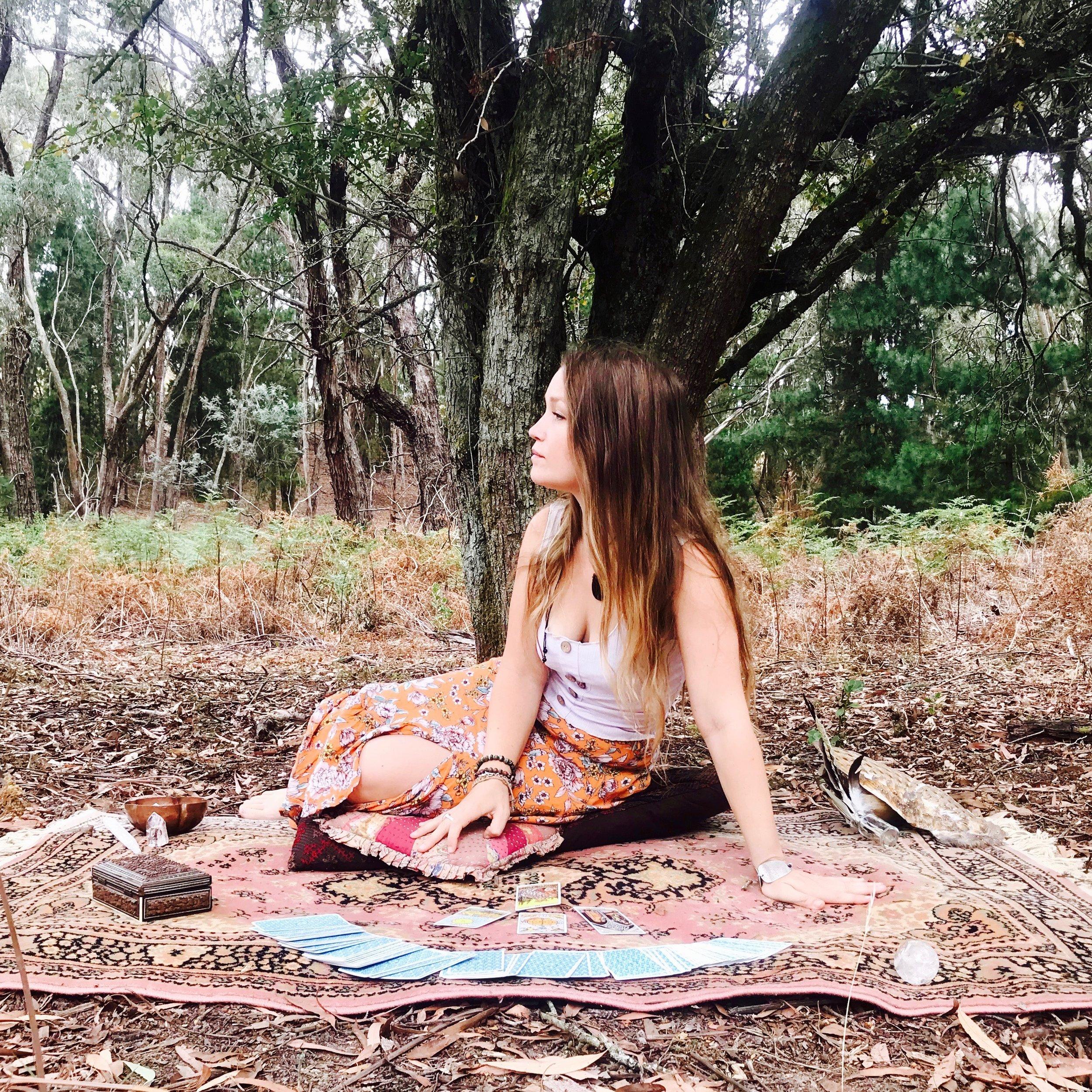 rebecca holly tarot reading reader ritual