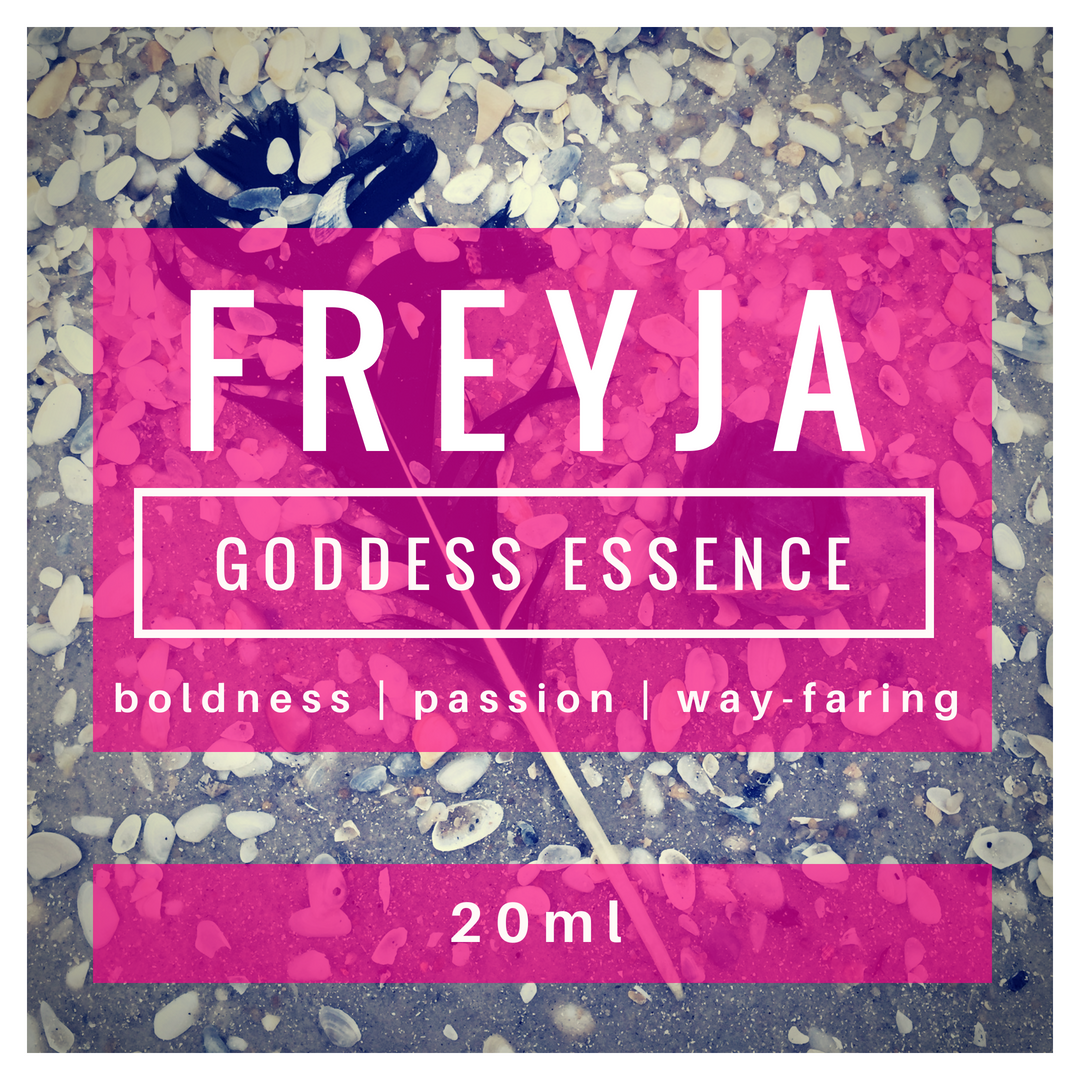 FREYJA goddess essence | free goddess ritual | altar | magic | witchcraft | pulse point oils | room sprays