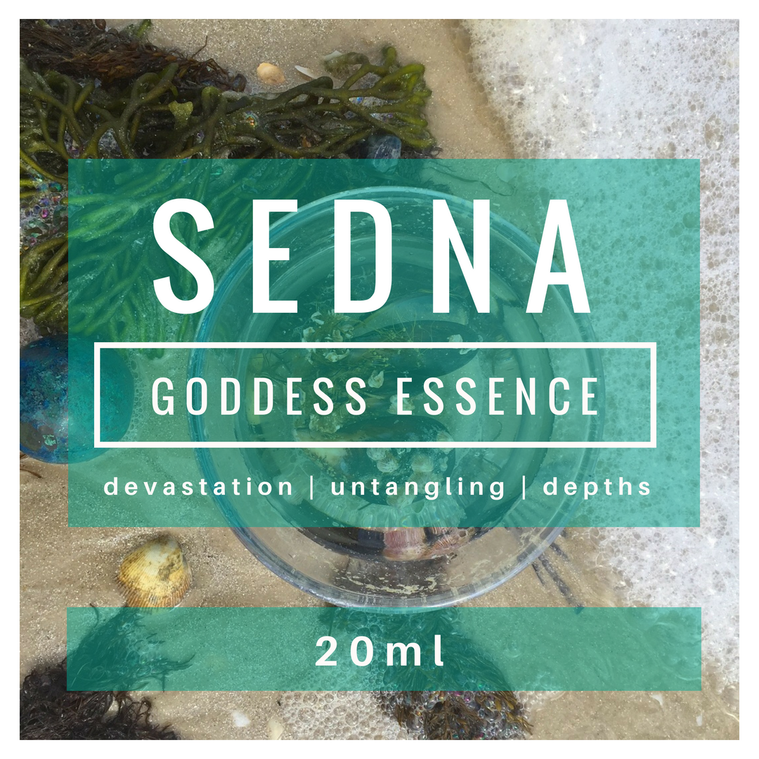 SEDNA Goddess Essence | grief | depths | untangling |deep dive