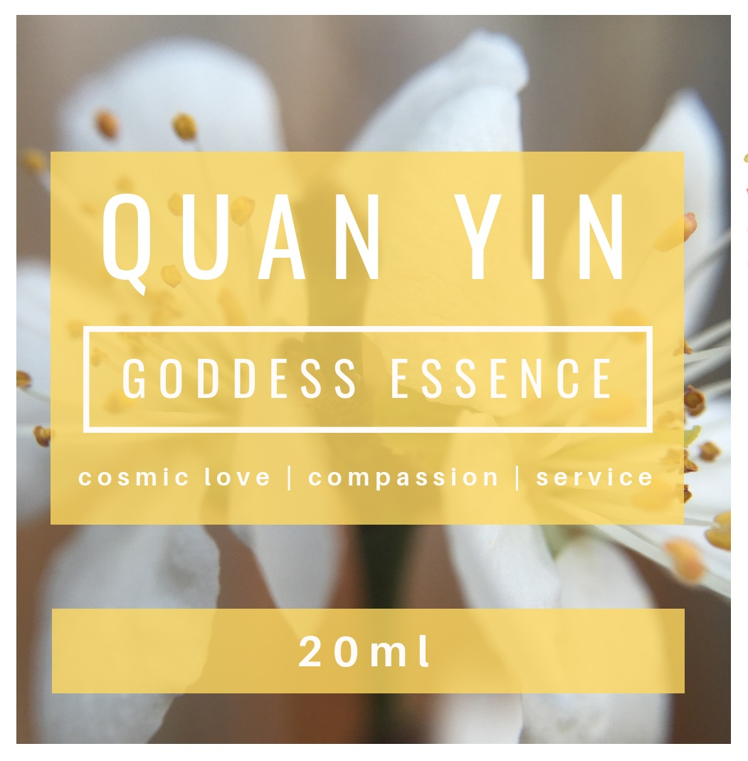 QUAN YIN Goddess Essence | compassion | being of service | mercy