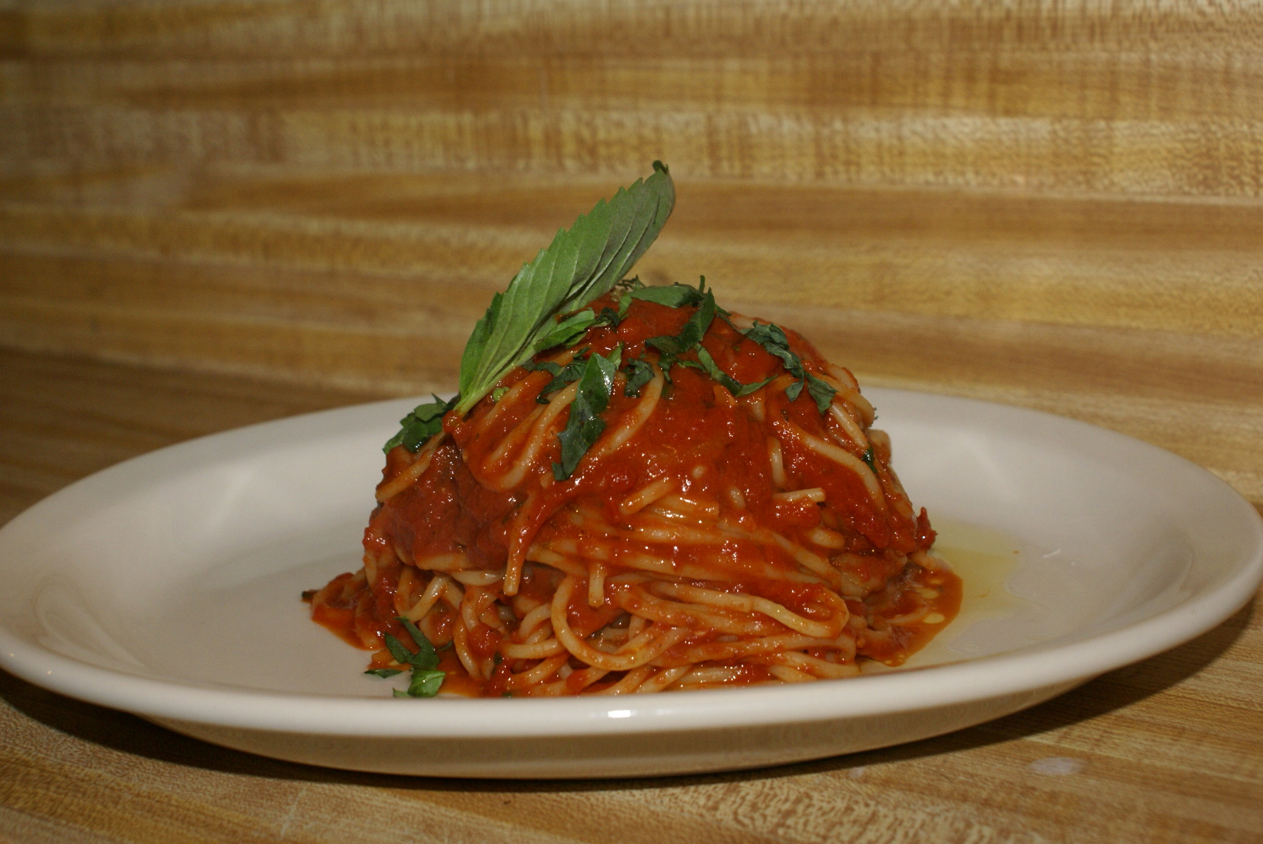 Spaghetti Marinara - tasty, classic, and comforting