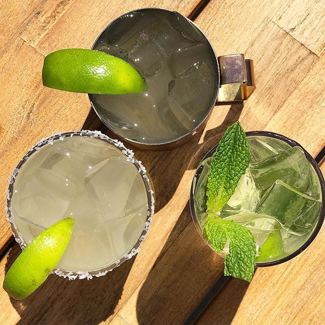 Mojitos • Mules • Margs • $5 from 5-9pm every Thursday #thirstyThursday
