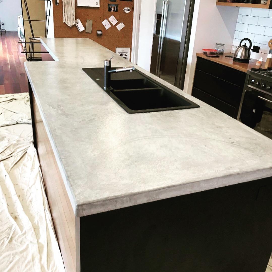 Bespoke Concrete Benchtop