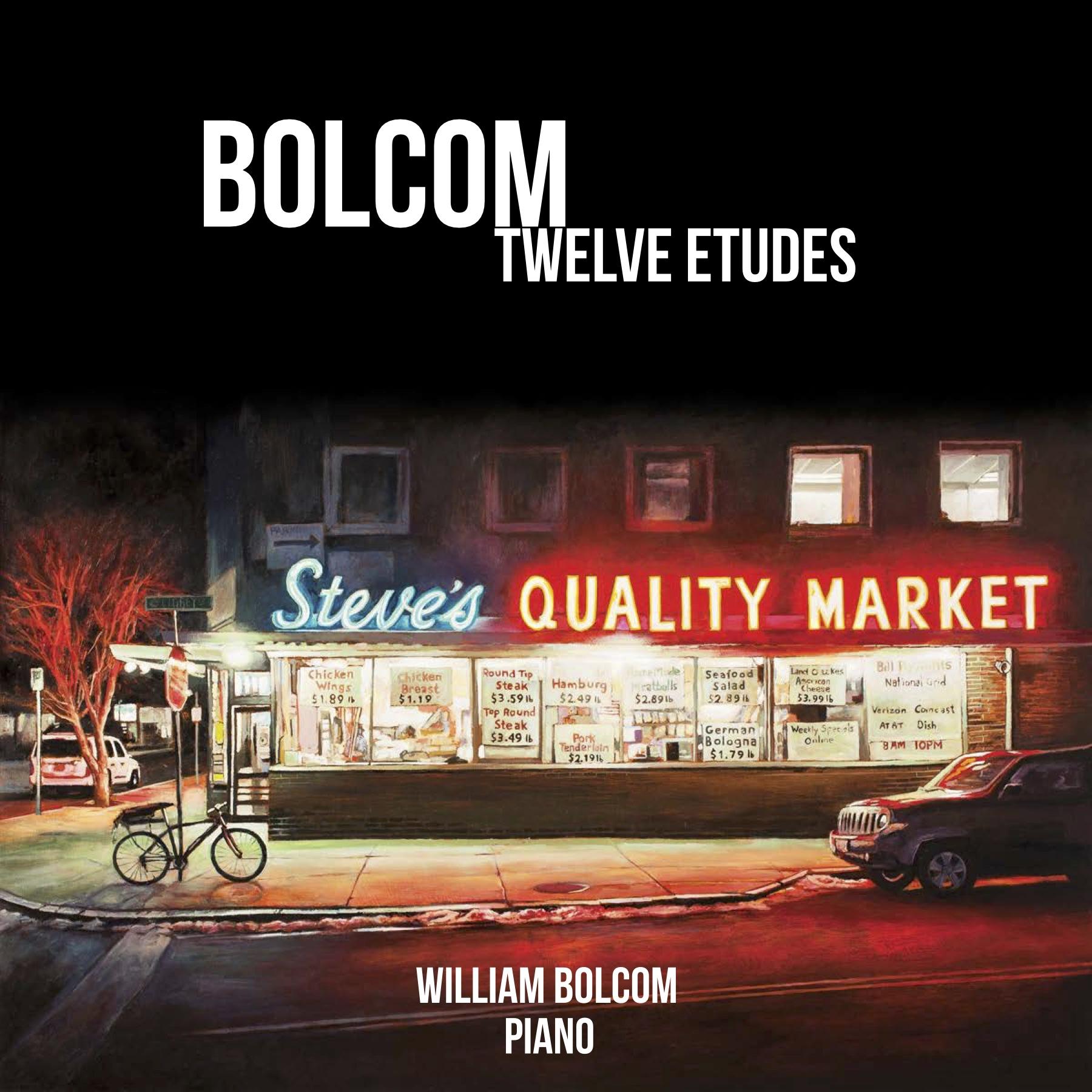 BOLCOM: TWELVE ETUDES