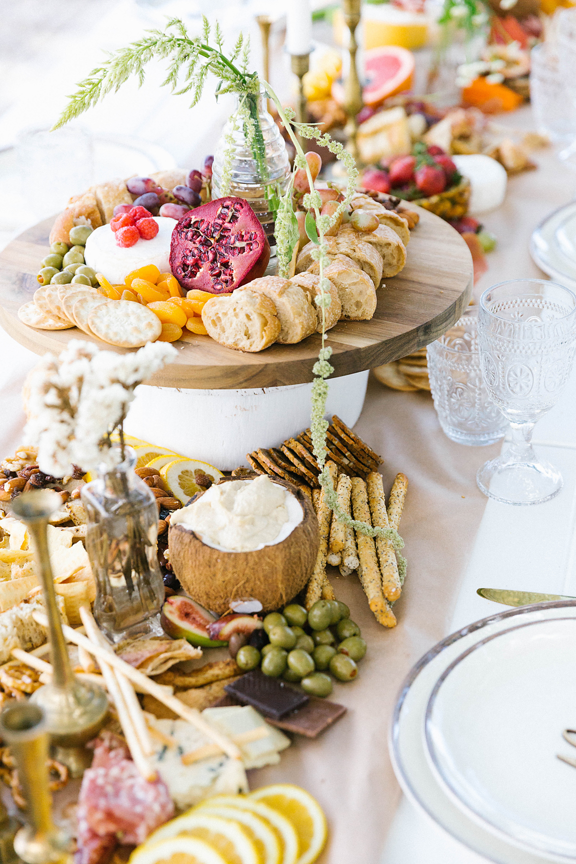 Food styling by  Platter to Plate
