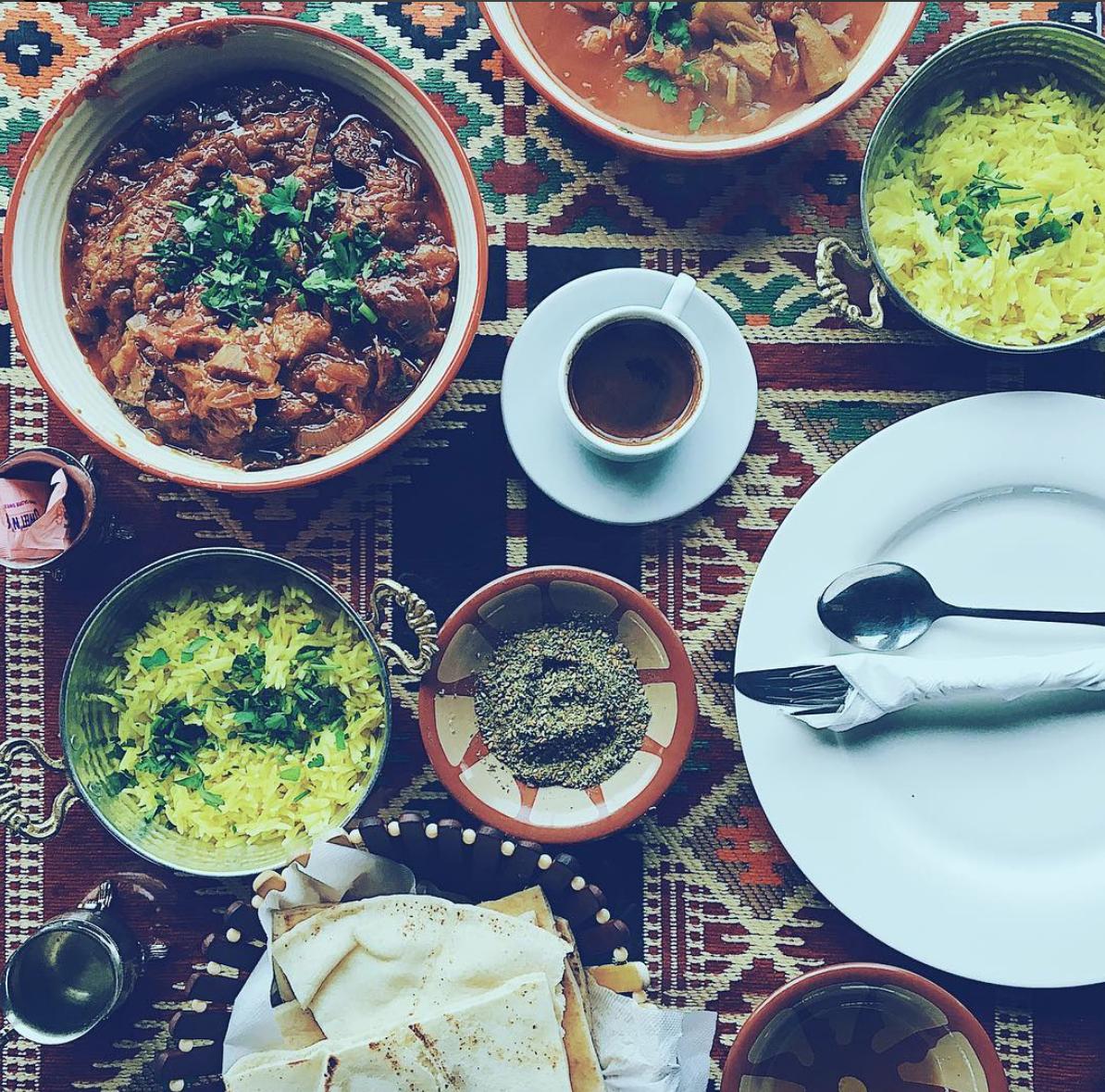 My Mother's Recipe Restaurant. Petra, Jordan. 2018.