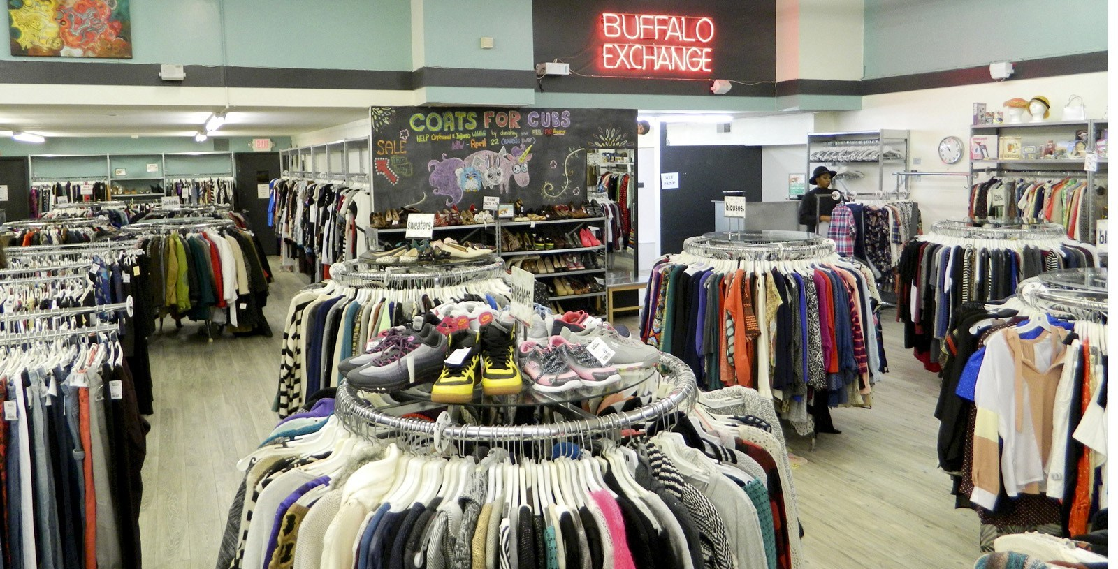 Buffalo Exchange - You can buy, sell, or trade your clothes and accessories at Buffalo Exchange for cash or trade on the spot. Check out one of its 48 locations across the US.