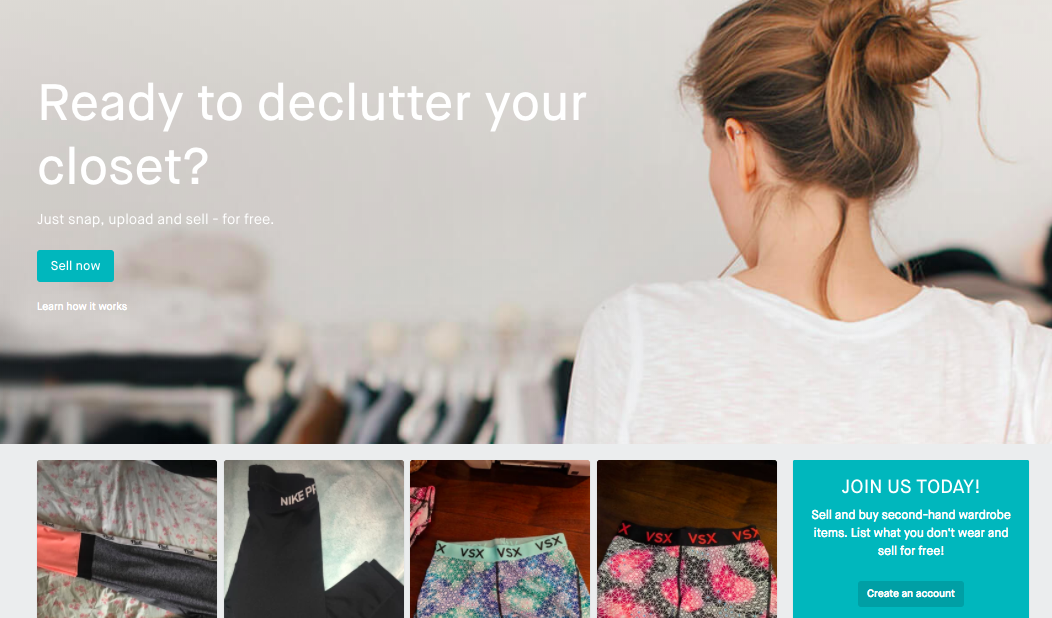 Vinted - Vinted allows its users to sell, buy, and swap(!) secondhand clothing and accessories. Think ASOS, Brandy Melville, Jeffrey Campbell, Topshop, and more.