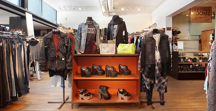 Wasteland - ...And my favorite secondhand haven, Wasteland, is located in San Francisco, Los Angeles, Santa Monica and Studio City. It prides itself for handpicking every designer and vintage piece, and seeking out new independent collections that express its spirit.