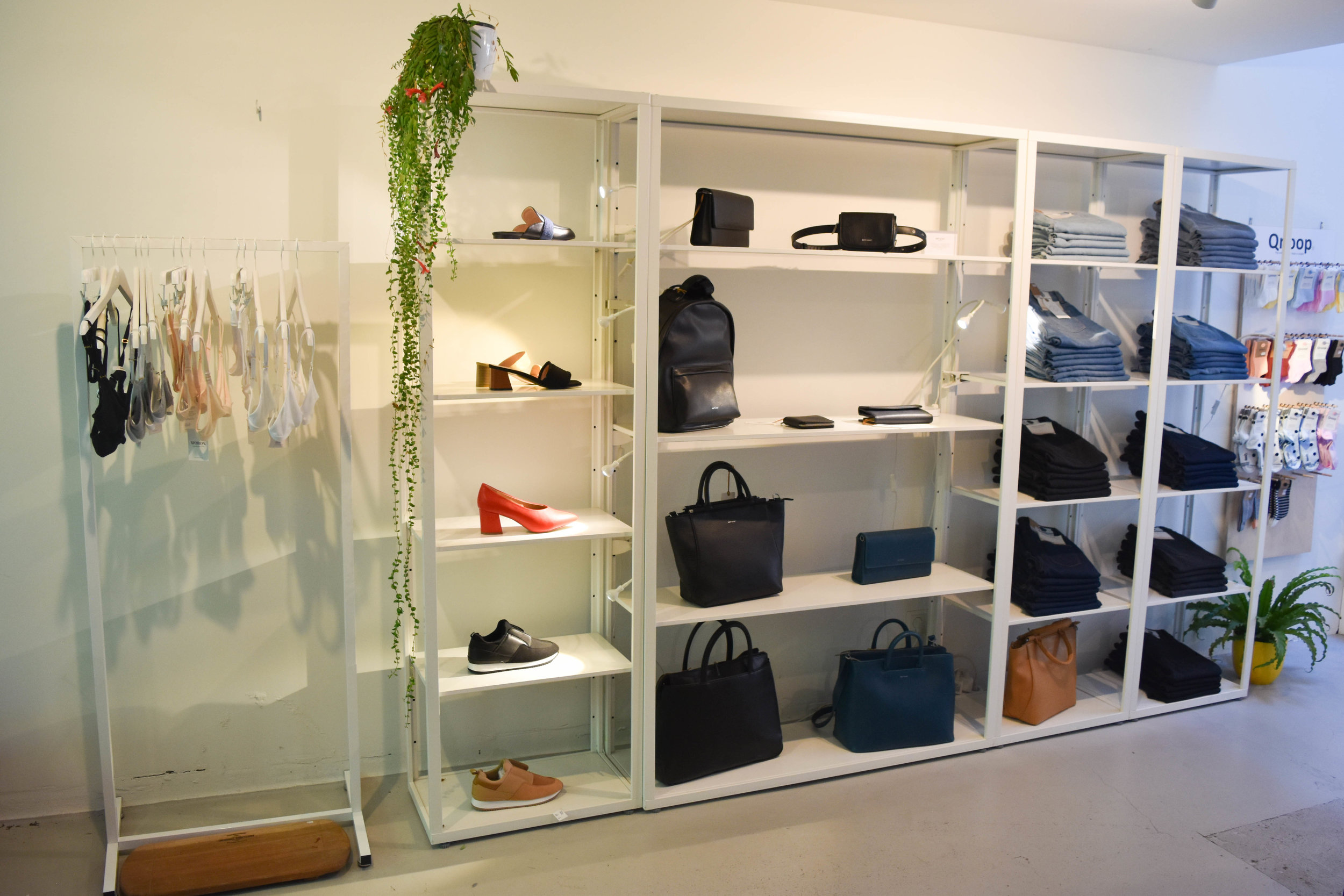 Bags by  Matt & Nat  and shoes by  Collection & Co , among some fabulous and sustainable  others.