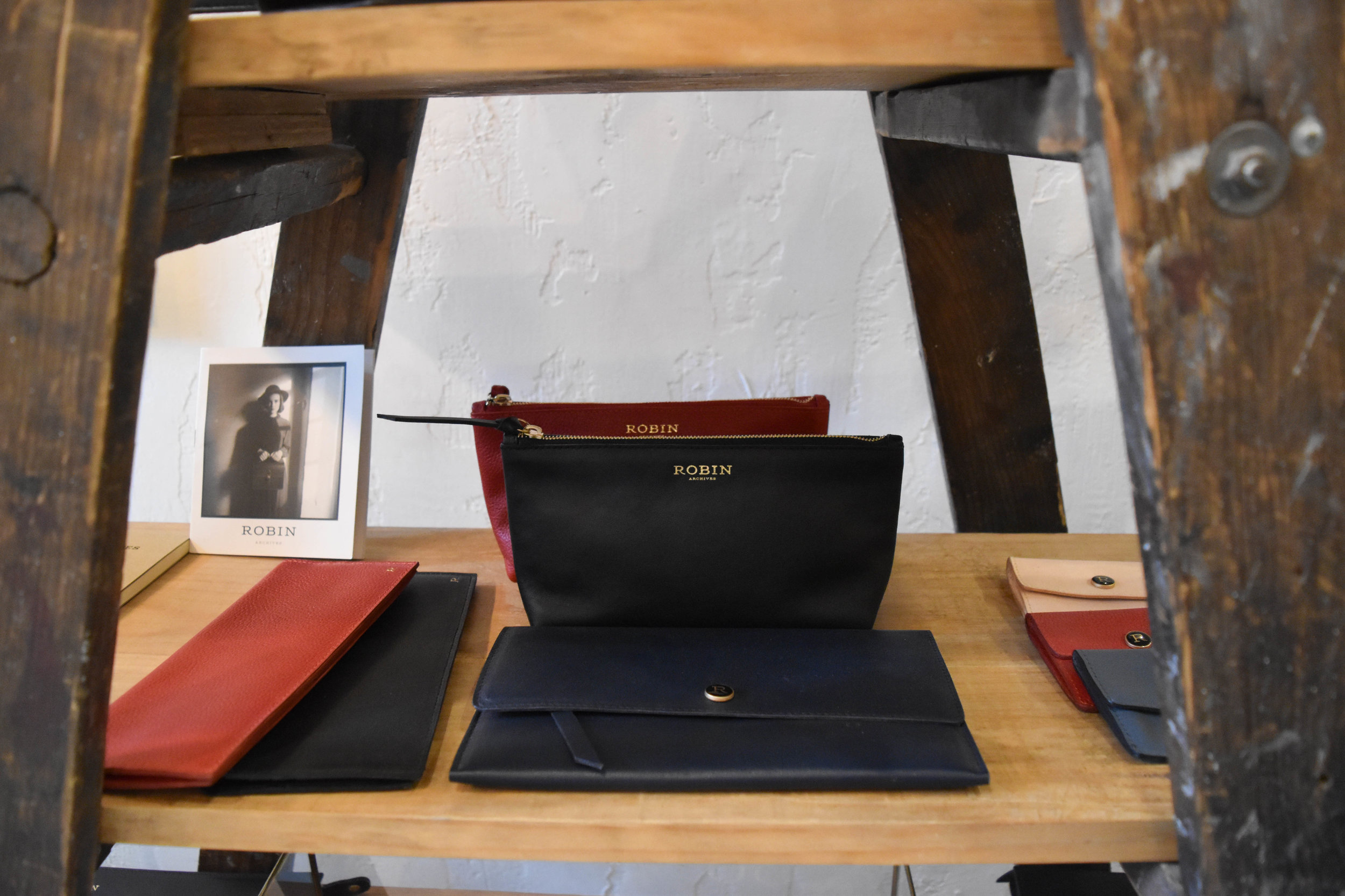 A mix of Japanese and local.  Robin Archives bags and accessories rep Mexico.