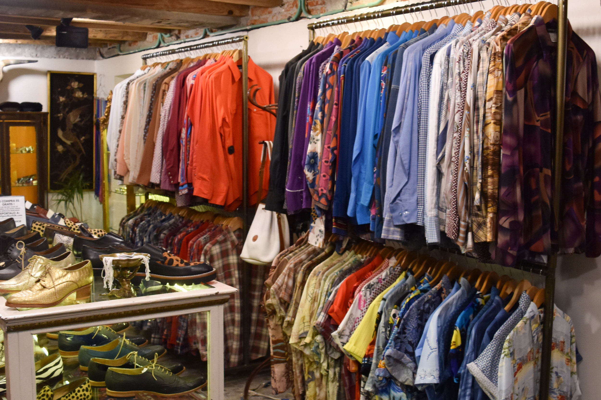 Vintage blouses and shirts and more blouses.