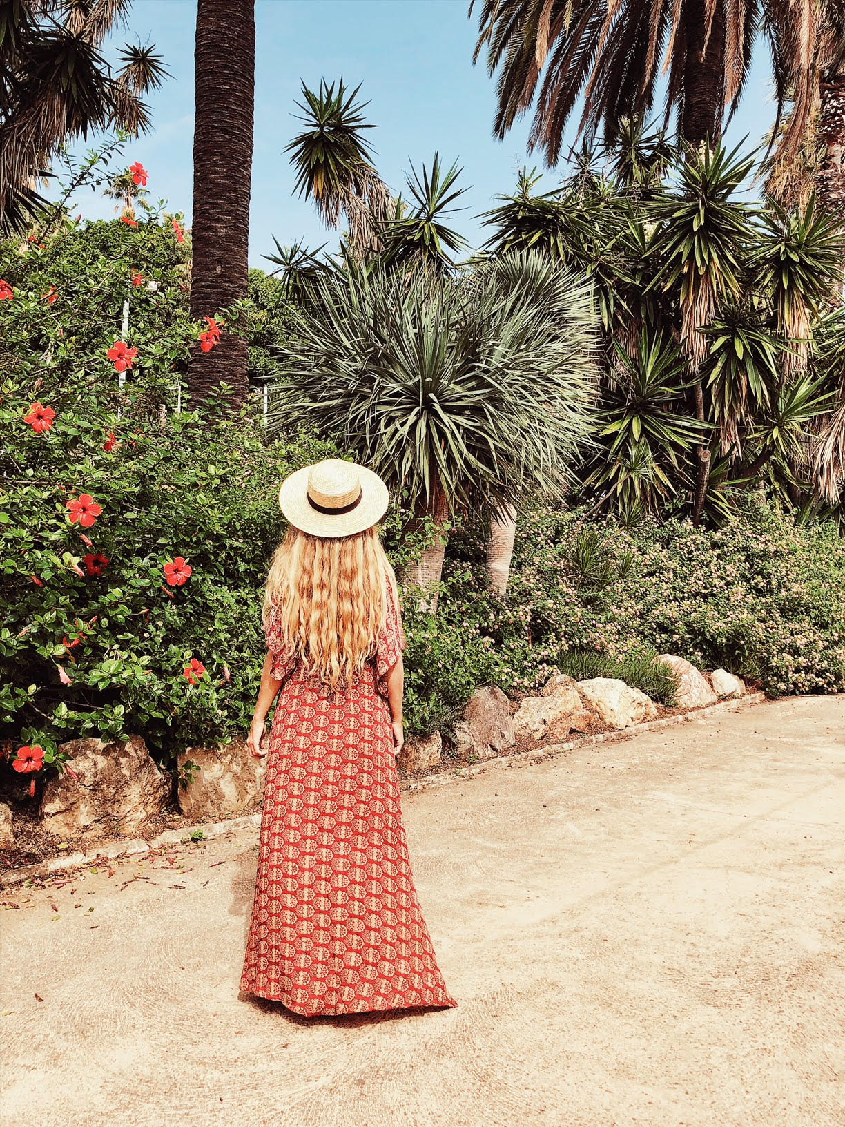 Dress by  Sissel Edelbo . Carefree vacation vibes sadly not included.