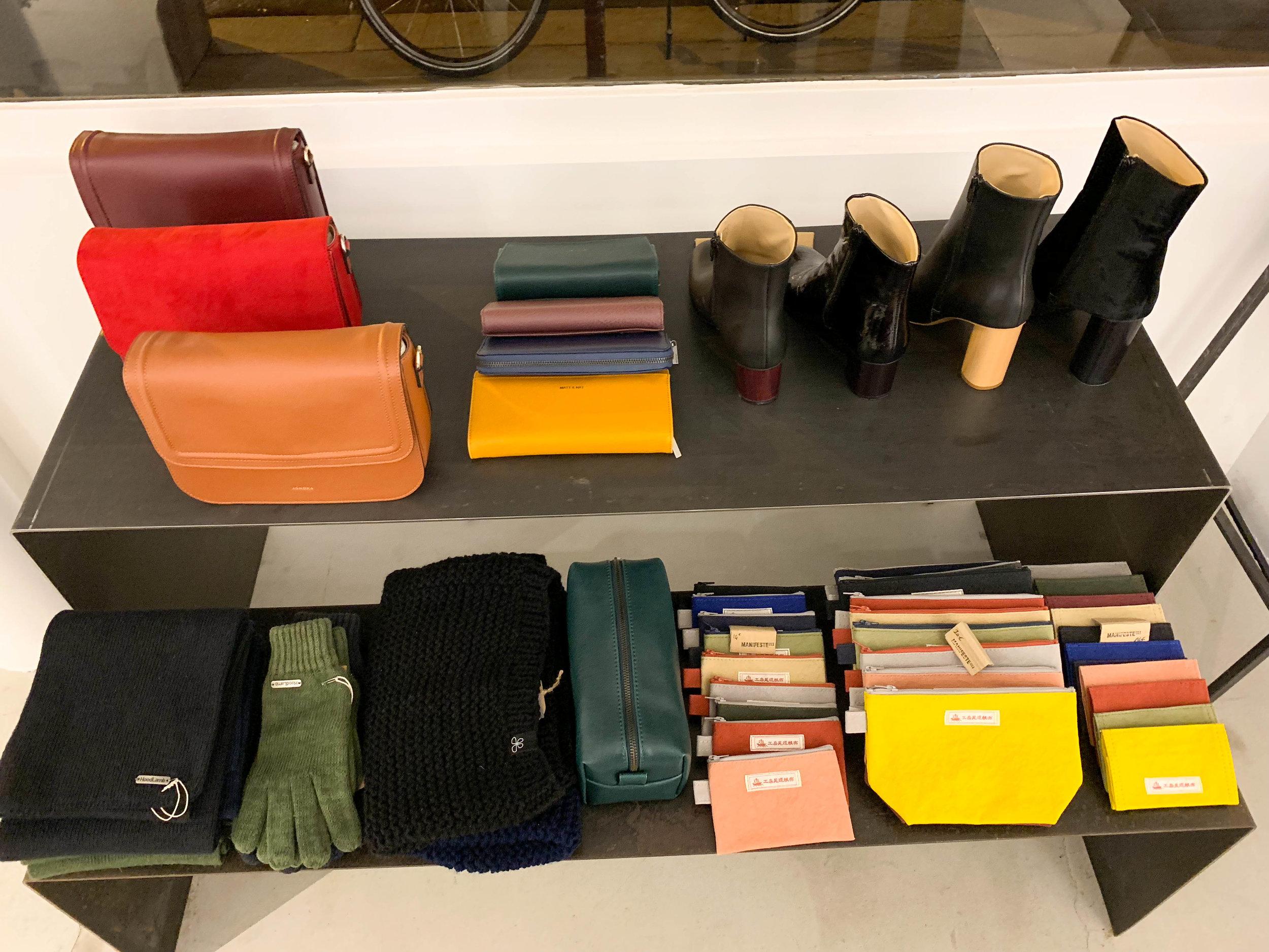 Hemps and vegan leather (but you would never know..):  HempLamb ,  Ashoka Paris , and  Matt & Nat .