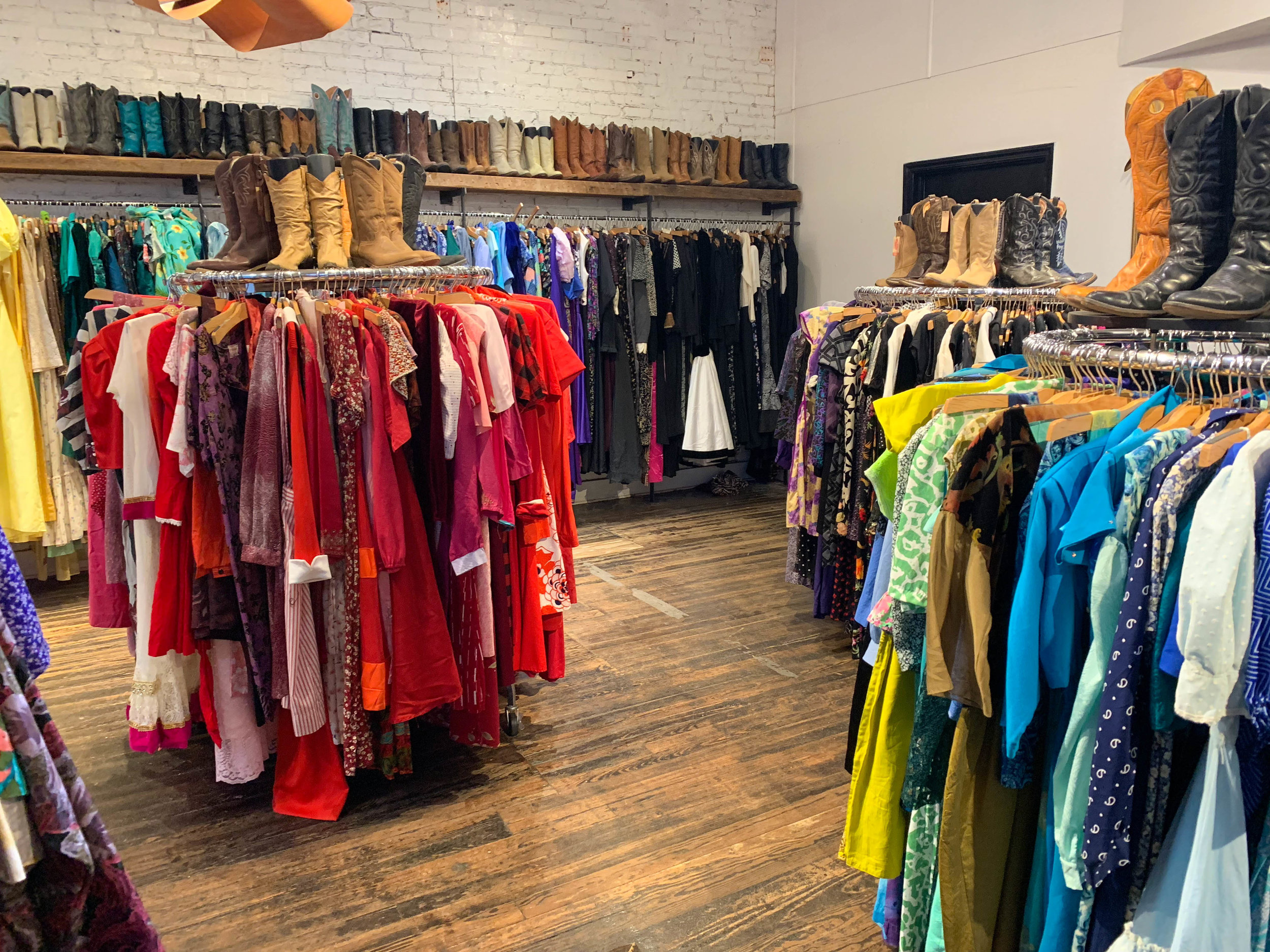 Rethinking how I arrange my closet. Rainbow may be the way to go.