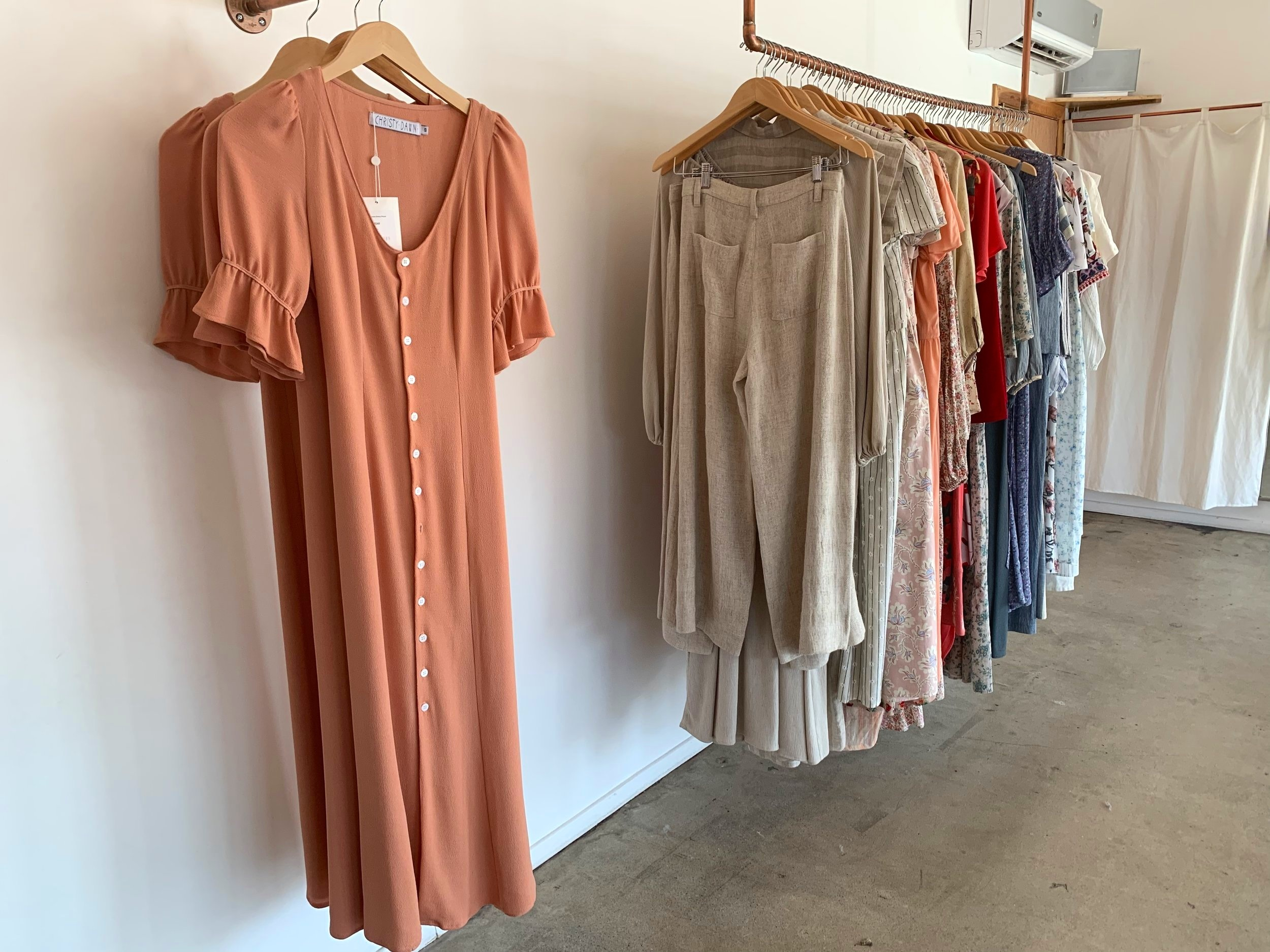 I want to wear this to every graduation party (even though I don't know anyone graduating from anything anytime soon…)  It's The Lennon Dress in peach ($248).