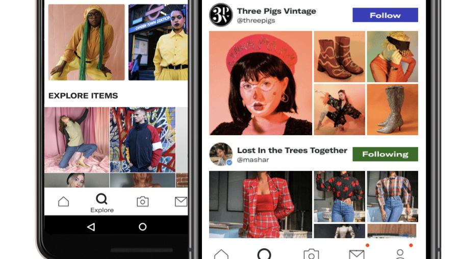 Depop - Come to Depop to see buy and sell unique vintage and used, while explore profiles of sellers in an Instagram-like feed. You can also discover fashion from an inspiring community of creatives from around the world.