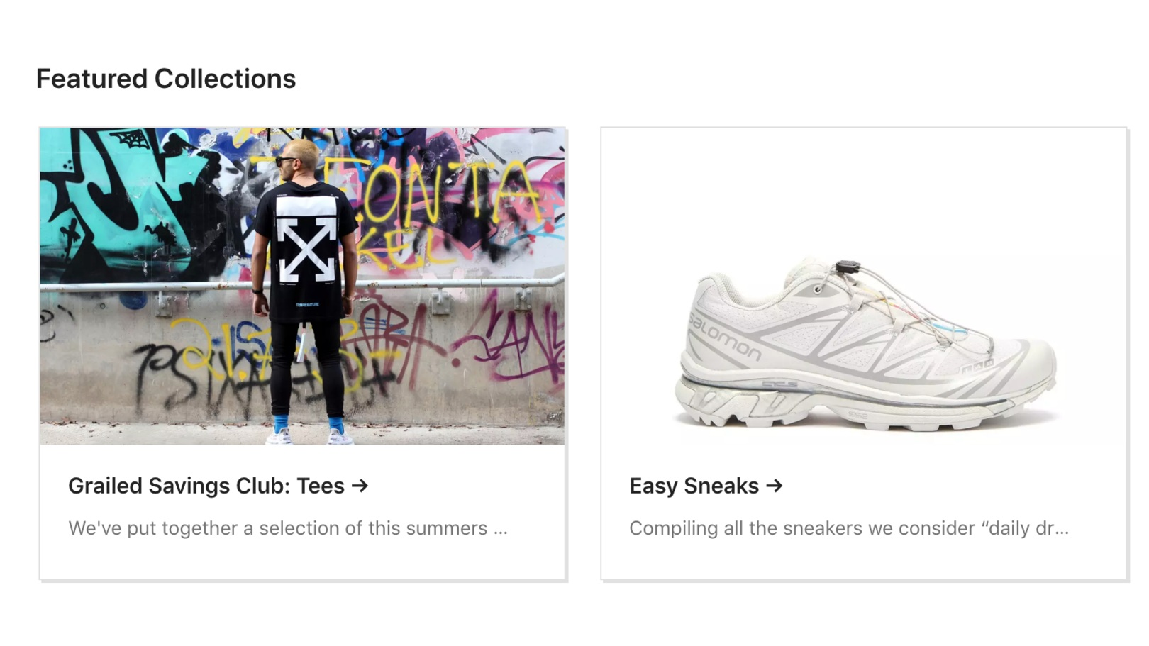 Grailed - Men and all genders who like men's fashion and streetwear—check out Grailed. The site curates the largest men's fashion marketplace. Every transaction conducted through Grailed with PayPal is eligible for a full refund if an item is not authentic.