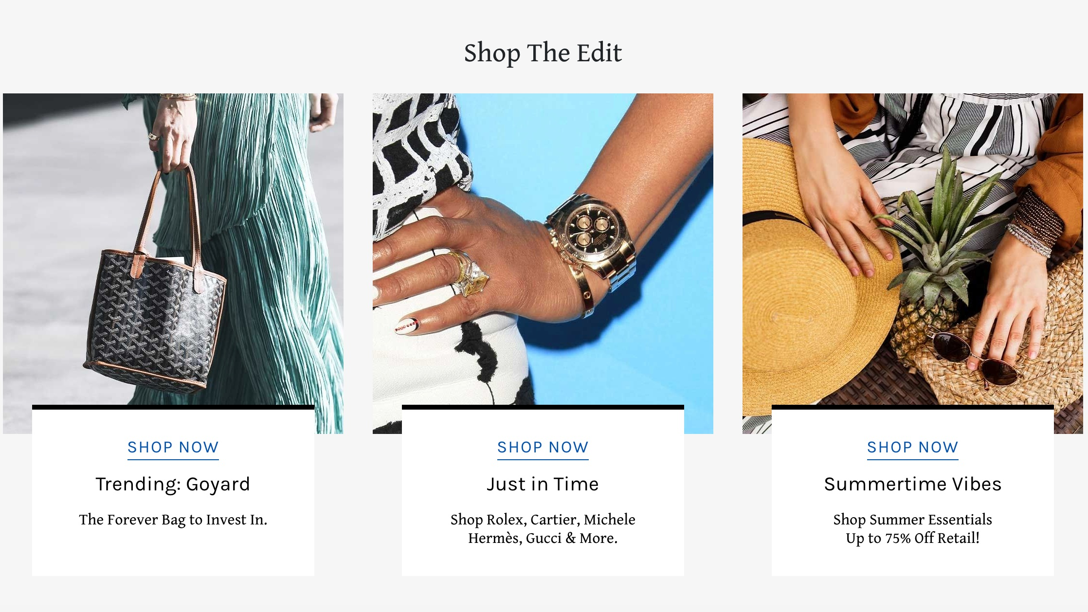 LePrix - LePrix.com offers access to carefully selected consignment and vintage boutiques around the world and also allows individual sellers to consign… that's if you have authentic, pre-owned luxury like Louis Vuitton, Hermes, Chanel, or Gucci.