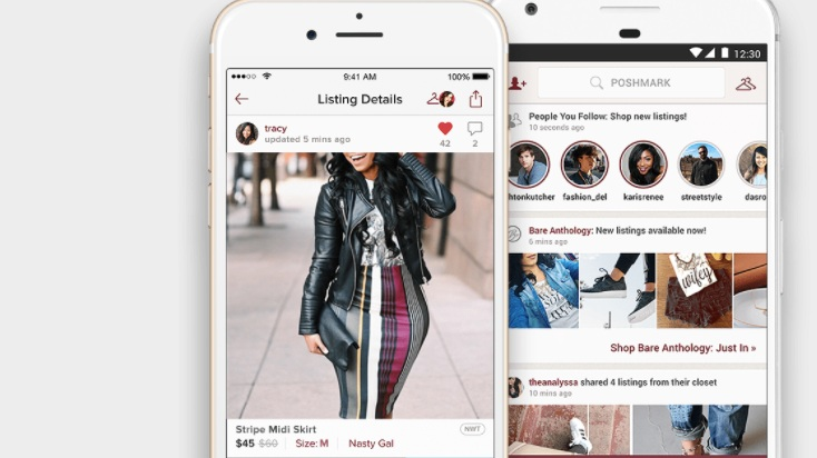 Poshmark - Poshmark is a social commerce marketplace for fashion where anyone can buy, sell, and share their personal style. The site and app also include a community where members can curate looks and share ideas and trends.