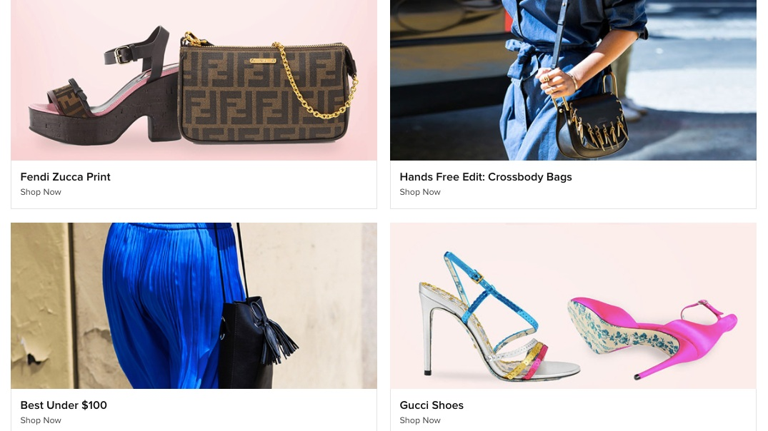 Tradesy - Tradesy is another place like The RealReal for buying and selling luxury designer fashion. You can shop styles at up to 70% off. (The marketplace is also made by women, for women, founded by fierce CEO Tracy DiNunzio.)